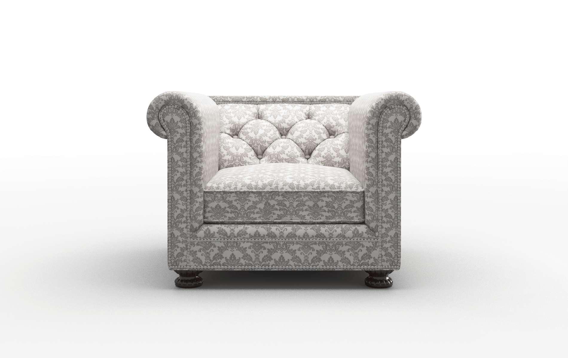 Athens Bergamo Dove Chair espresso legs 1