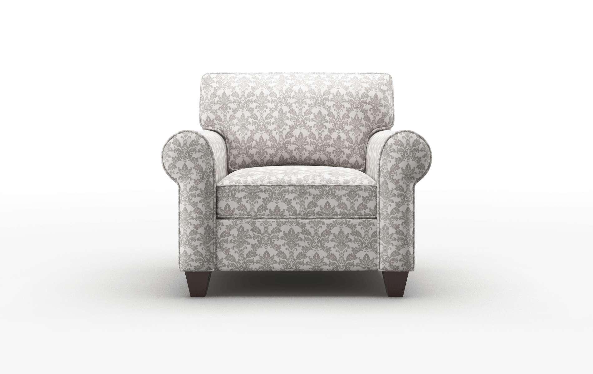 Augusta Bergamo Dove Chair espresso legs 1