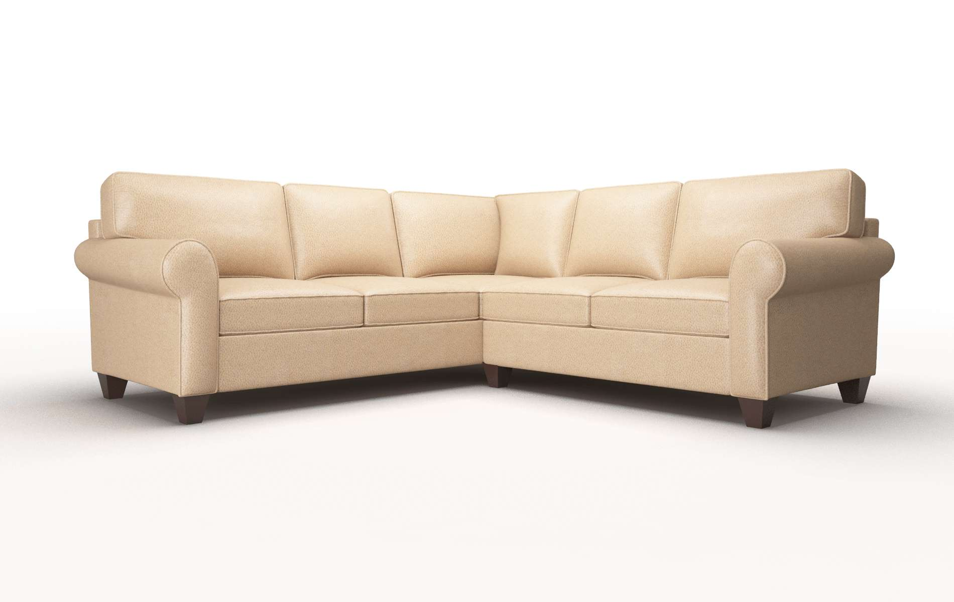 Augusta Ford Dune Sectional espresso legs 1