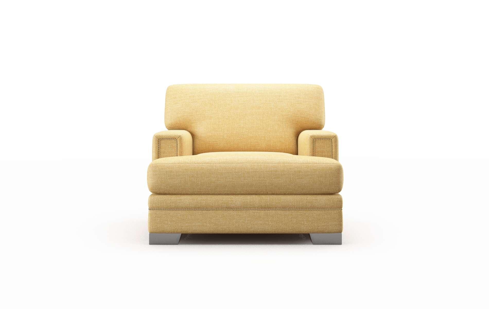Barcelona Keylargo Honey chair metal legs