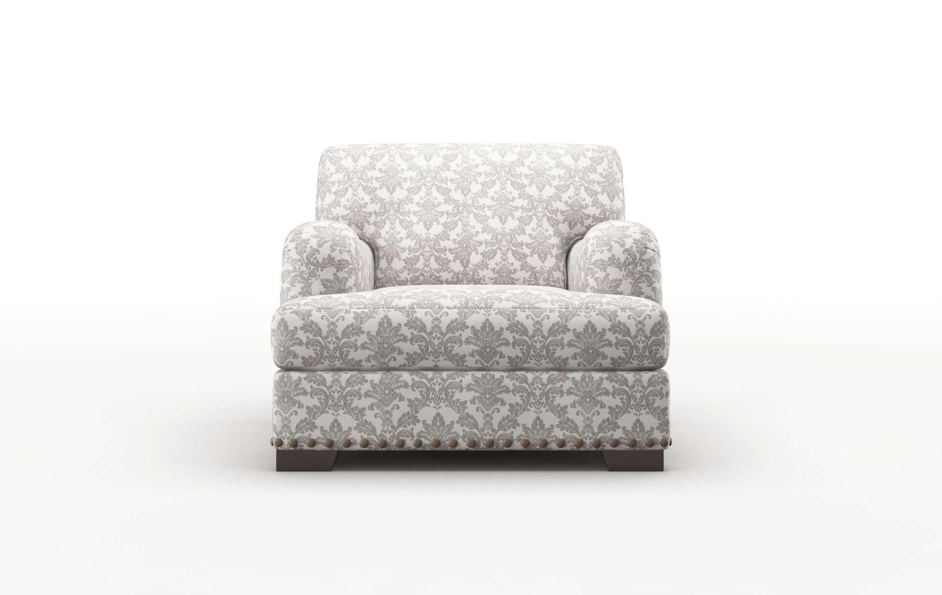 Brighton Bergamo Dove Chair espresso legs 1
