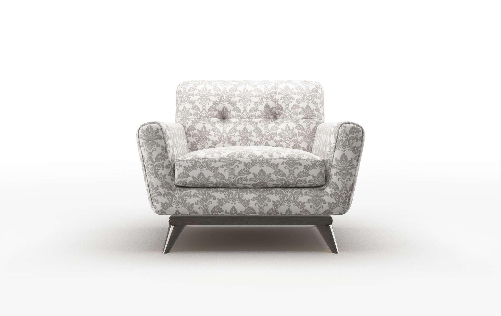 Brussels Bergamo Dove Chair espresso legs 1