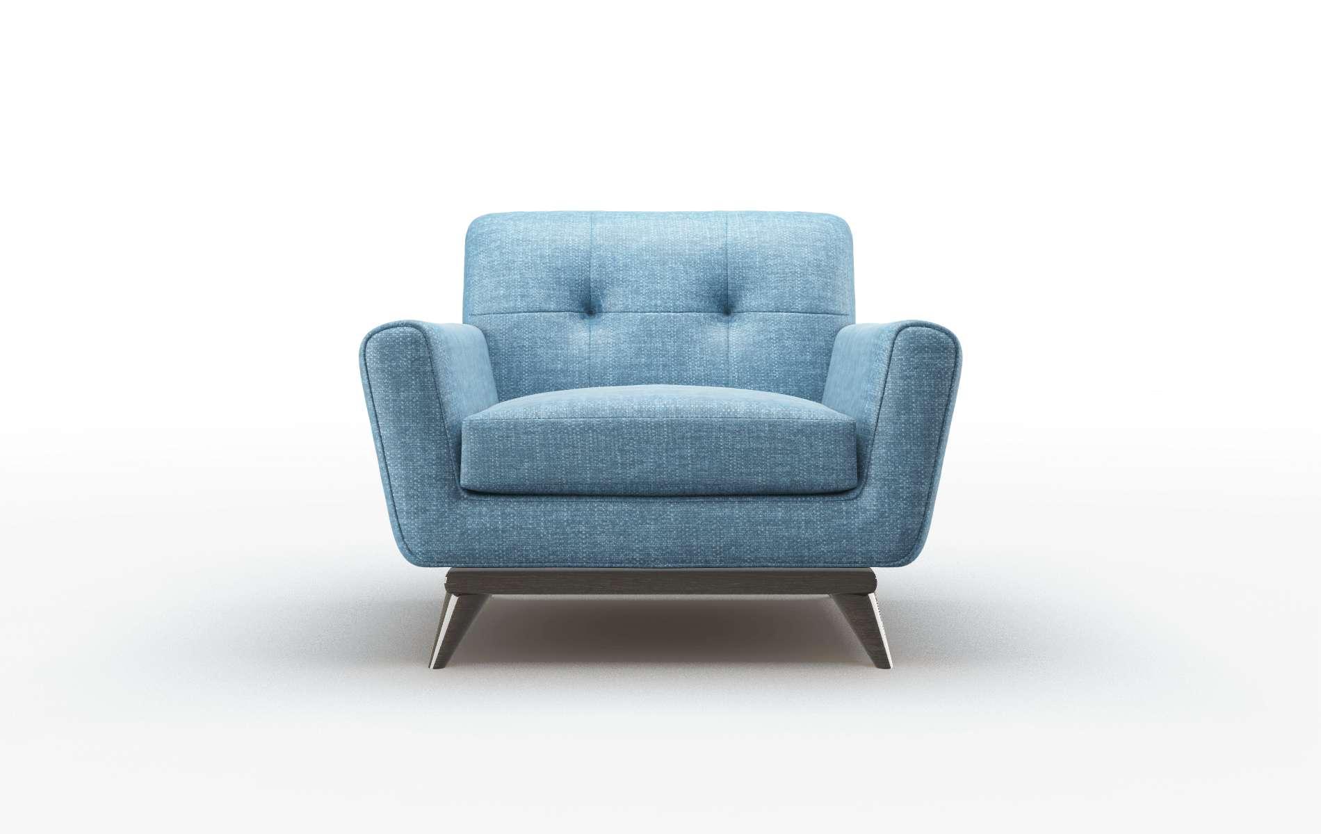 Brussels Keylargo Ocean Chair espresso legs 1