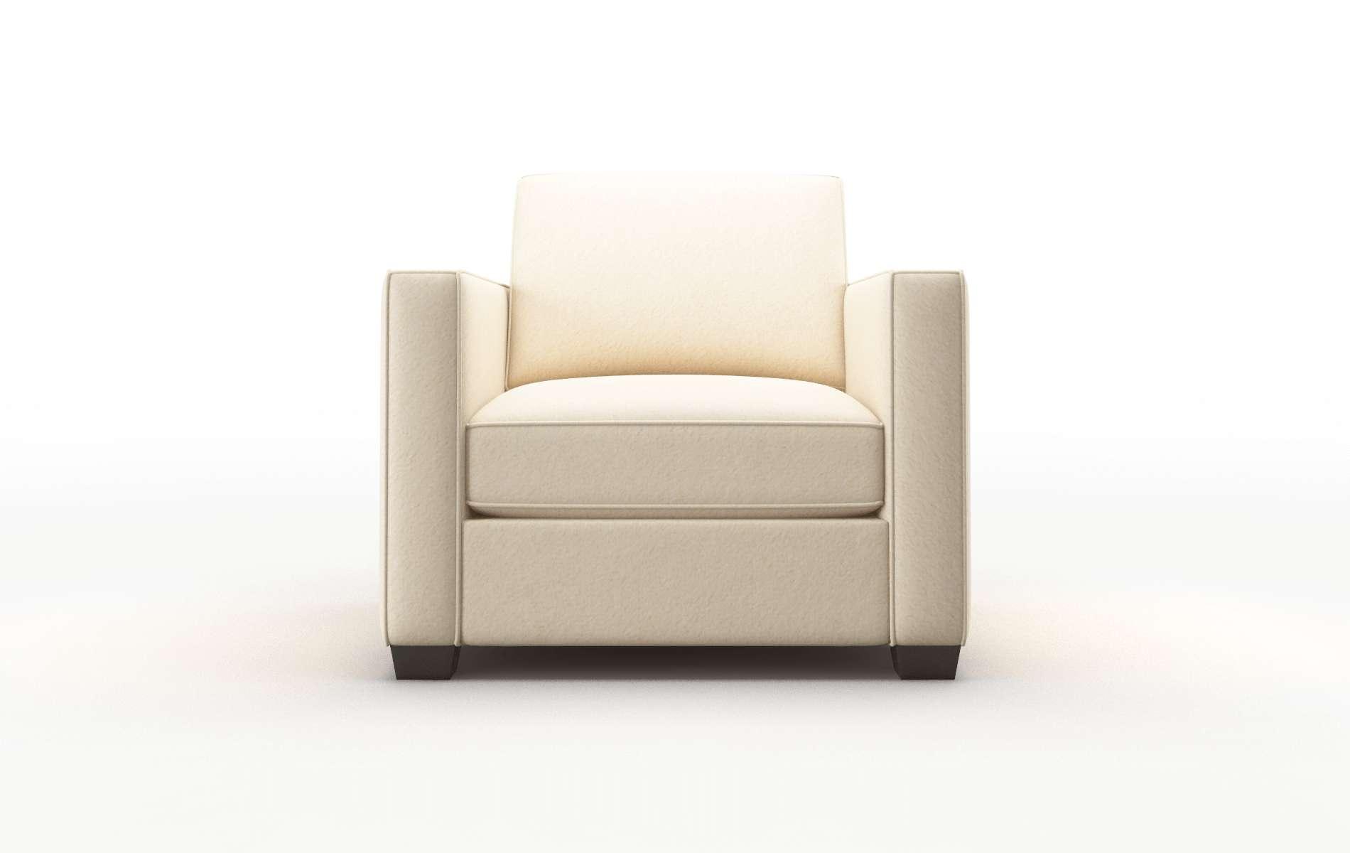 Calgary Bella Buckwheat Chair espresso legs 1