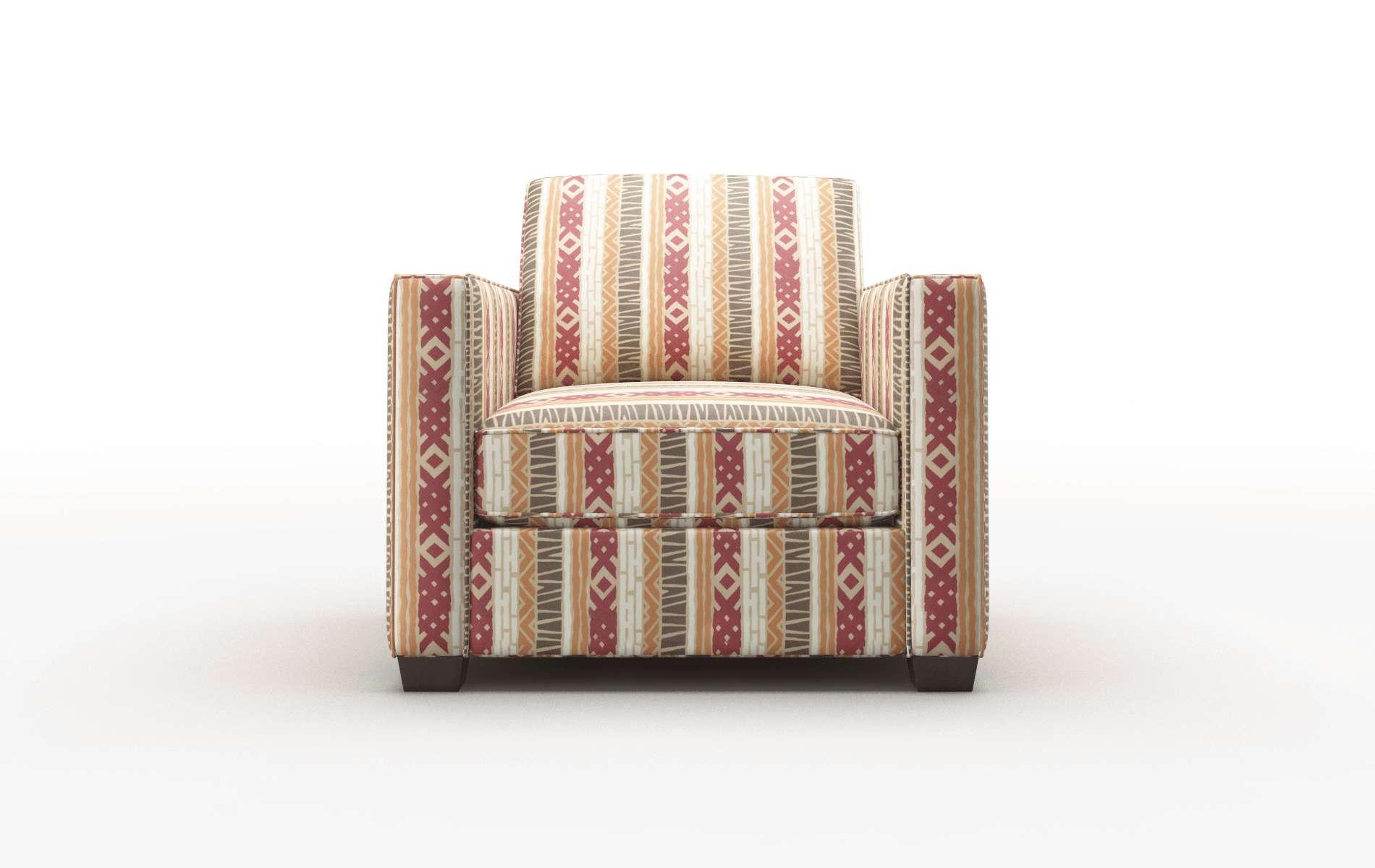 Calgary Bodhi Tango Chair espresso legs 1