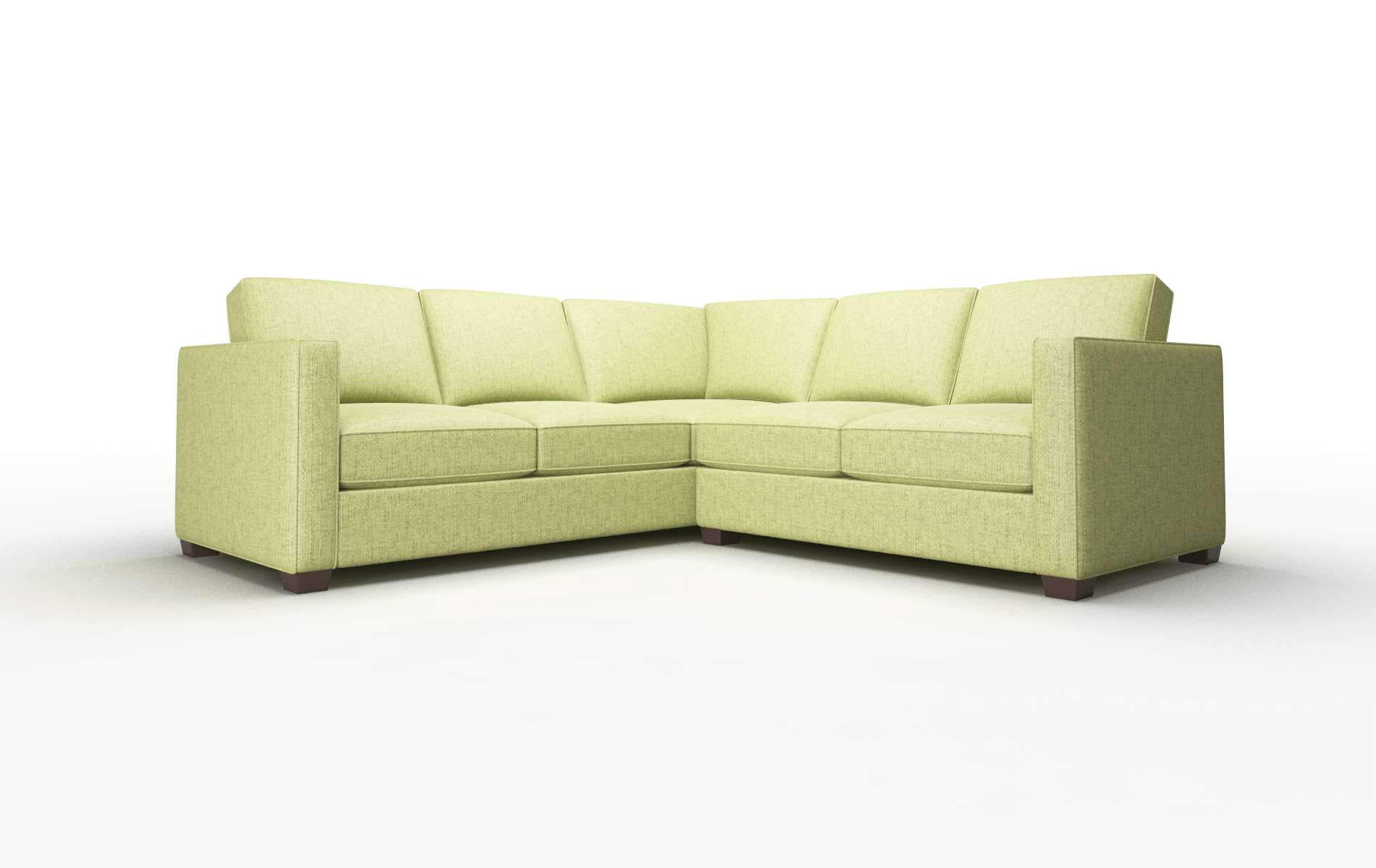 Calgary Notion Appletini Sectional espresso legs 1