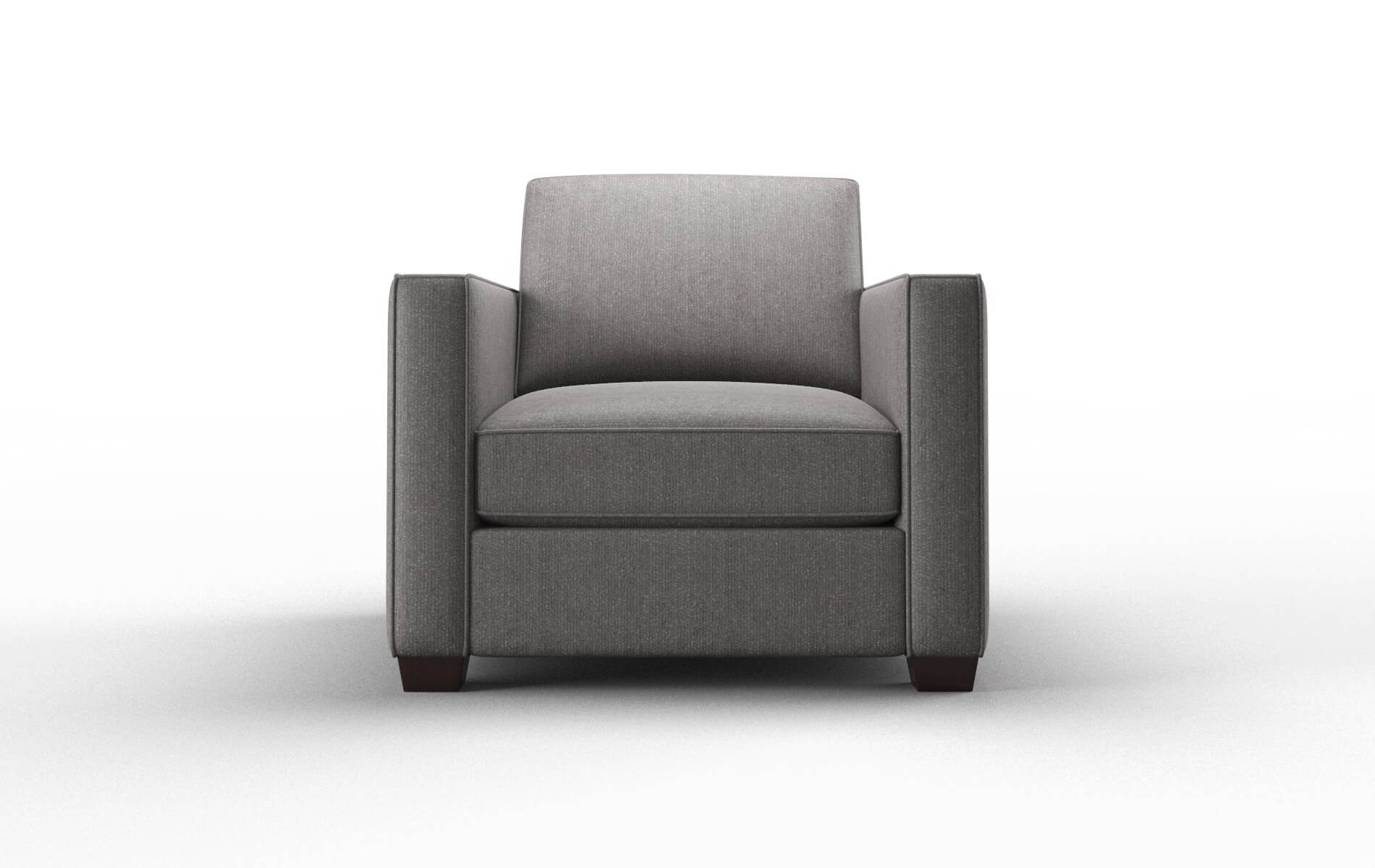 Calgary Sasha Granite chair espresso legs