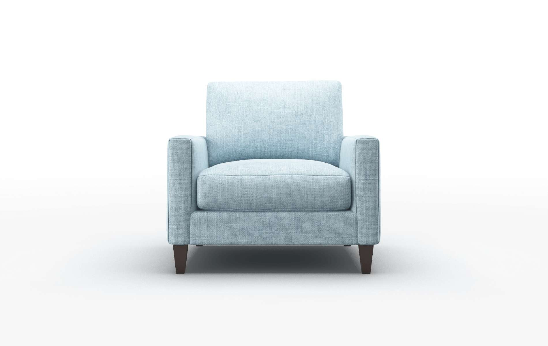 Cannes Atlas Turquoise Chair espresso legs 1