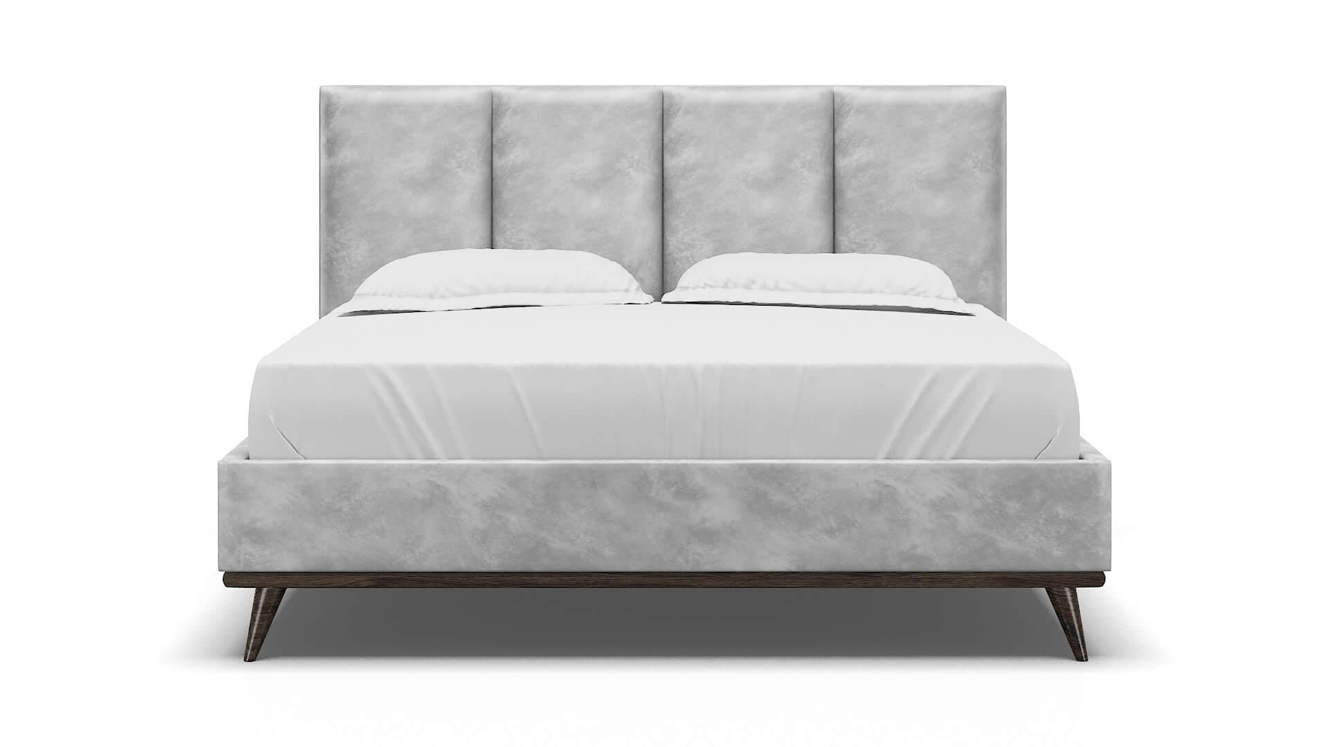 Celine Loft Snowfall Bed King espresso legs 1