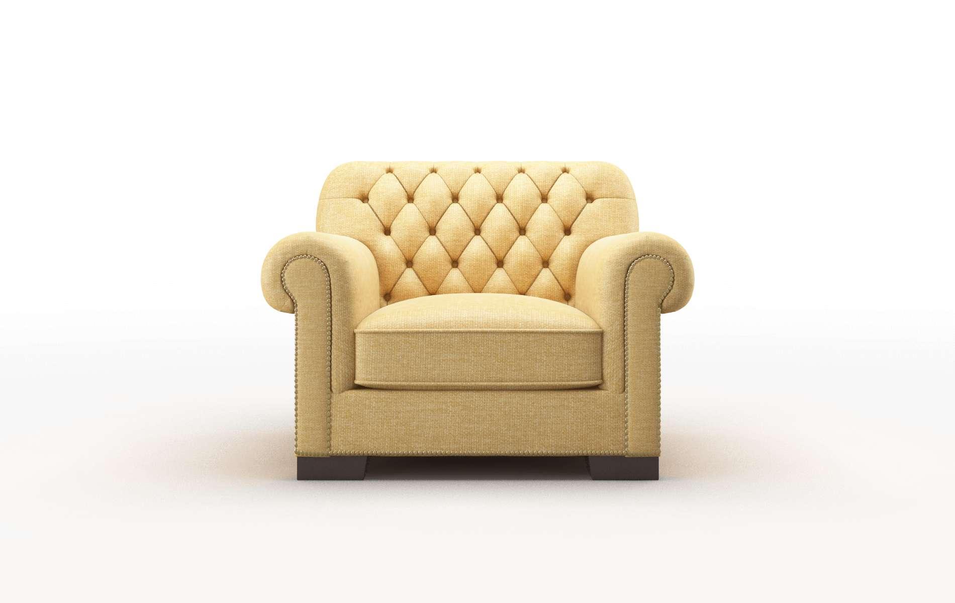 Chester Keylargo Honey chair espresso legs
