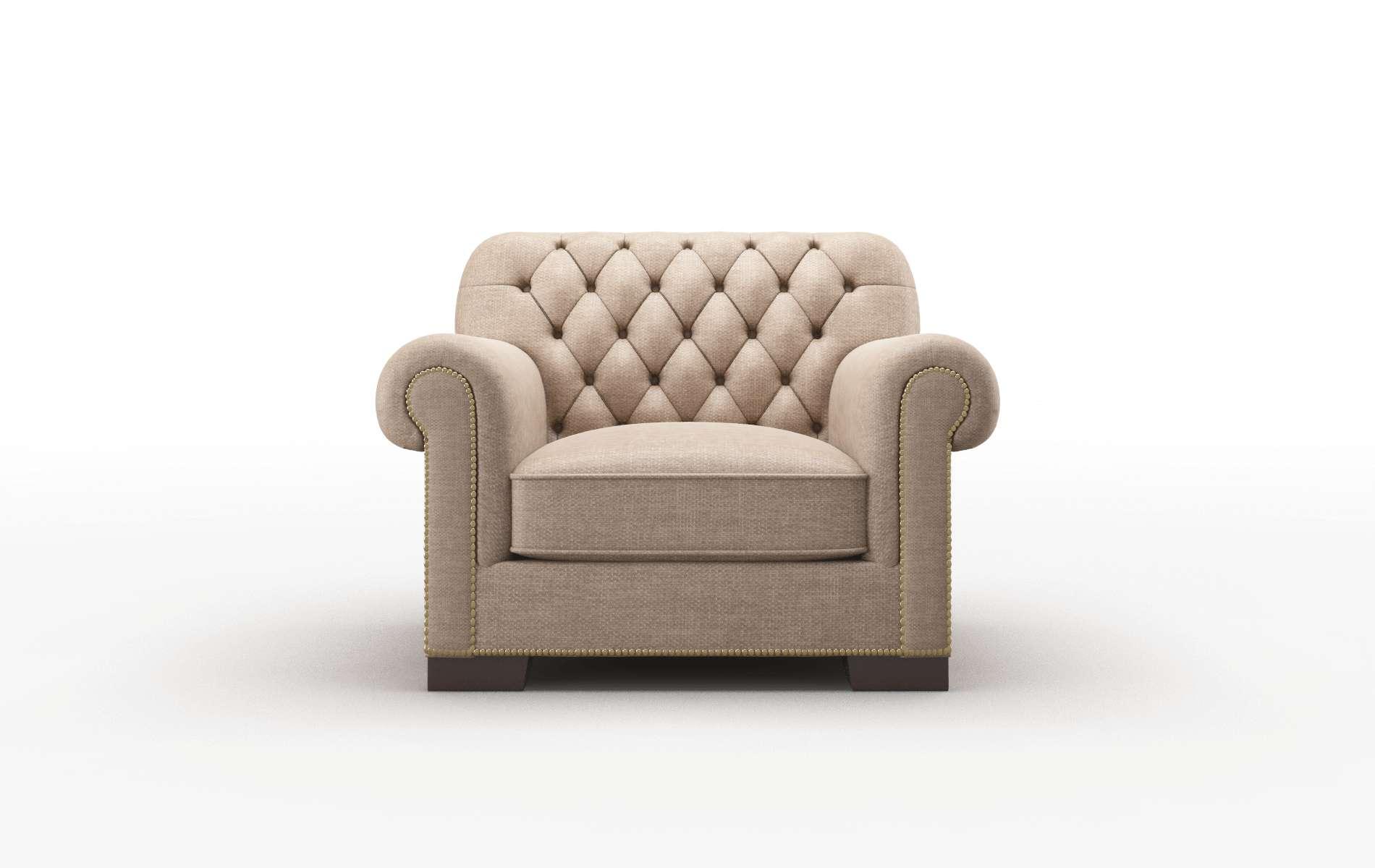 Chester Keylargo Mink Chair espresso legs 1