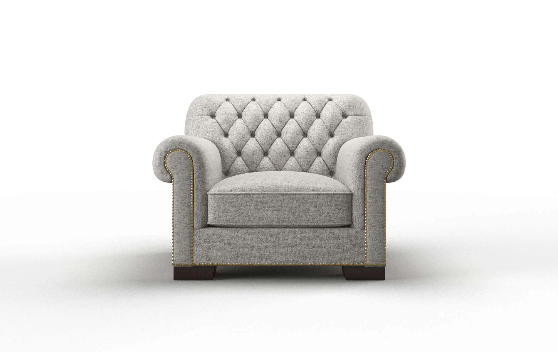 Chester Oceanside Granite Chair espresso legs 1