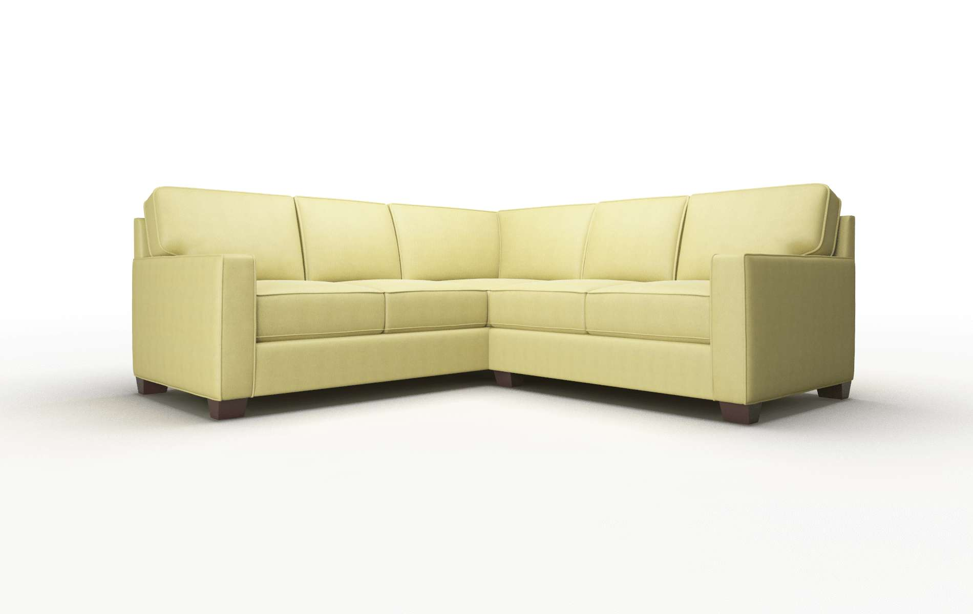 Chicago Bella Apple Sectional espresso legs 1