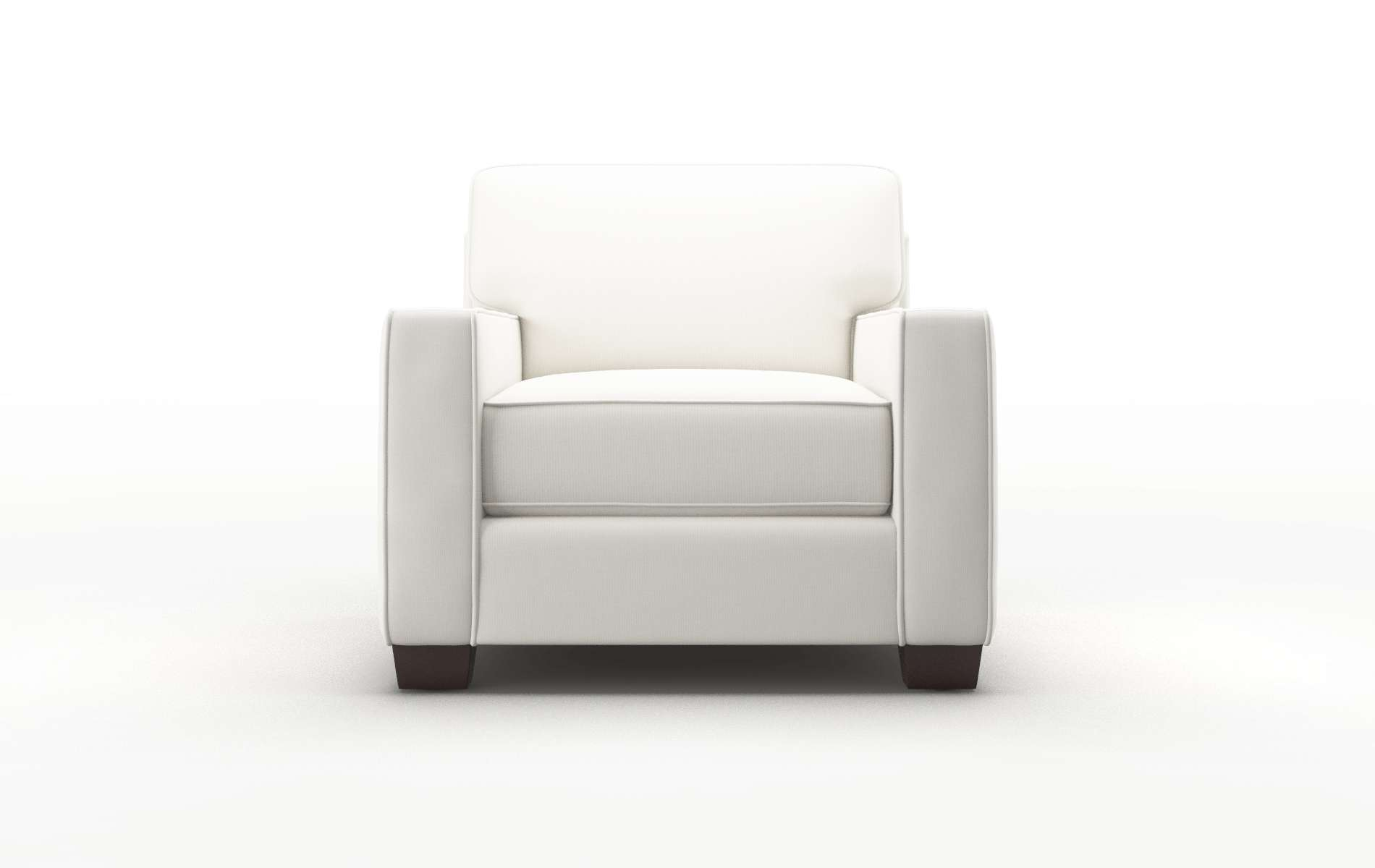 Chicago Keylargo Oatmeal chair espresso legs