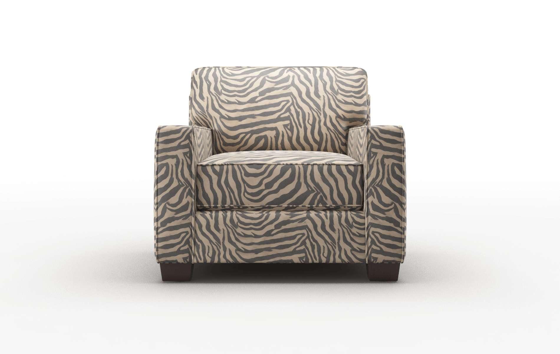 Chicago Zambia Coffee Chair espresso legs 1