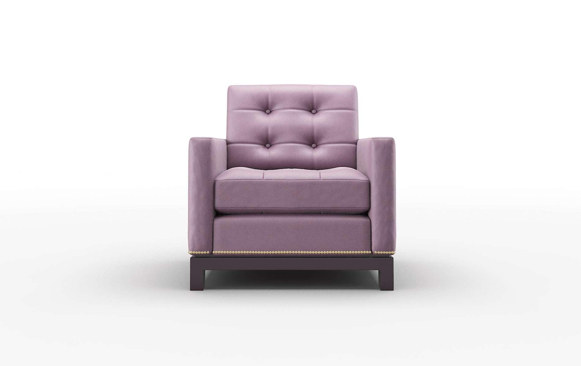 Davos Bella Aubergine Chair espresso legs 1