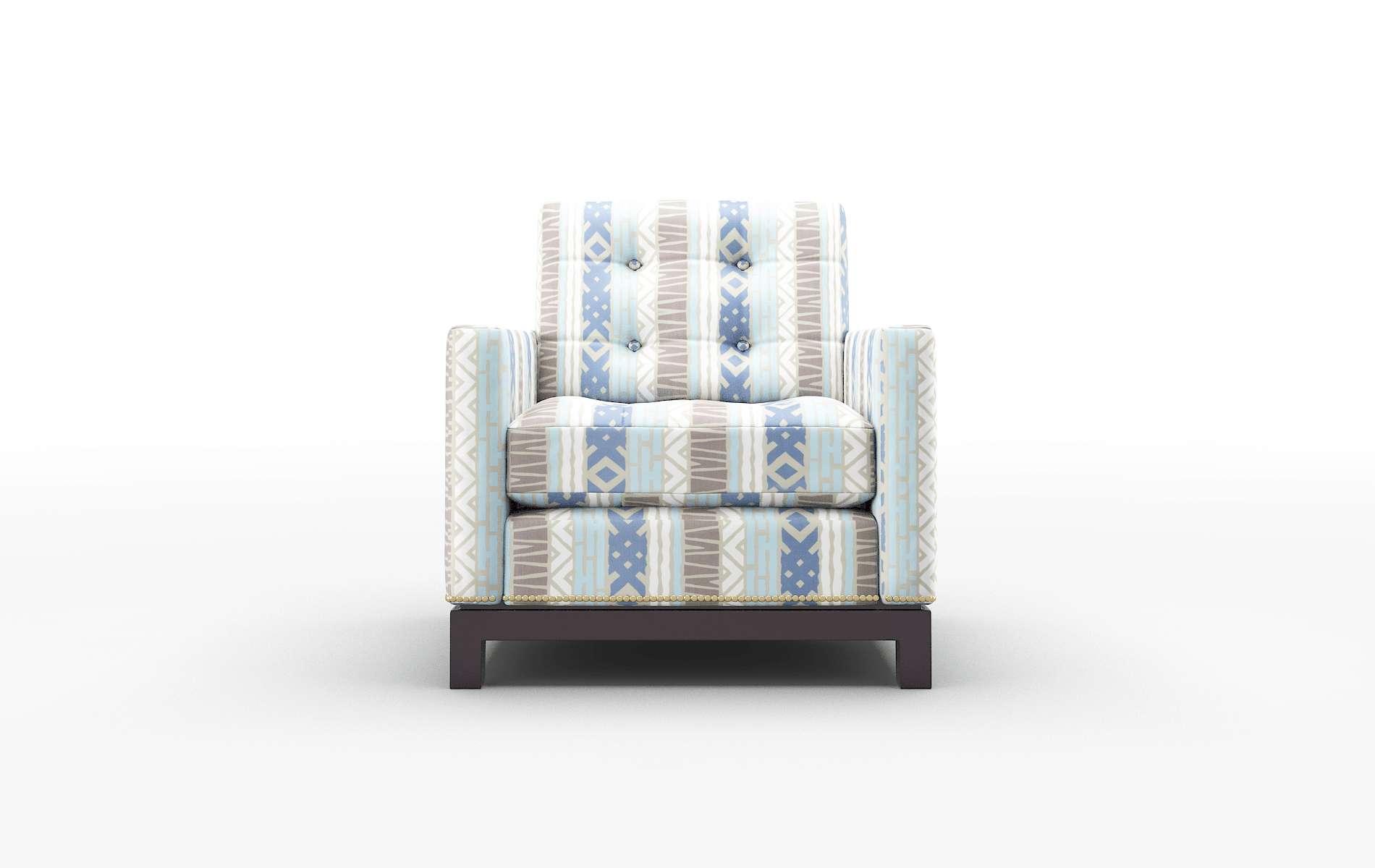 Davos Bodhi Indigo Chair espresso legs 1