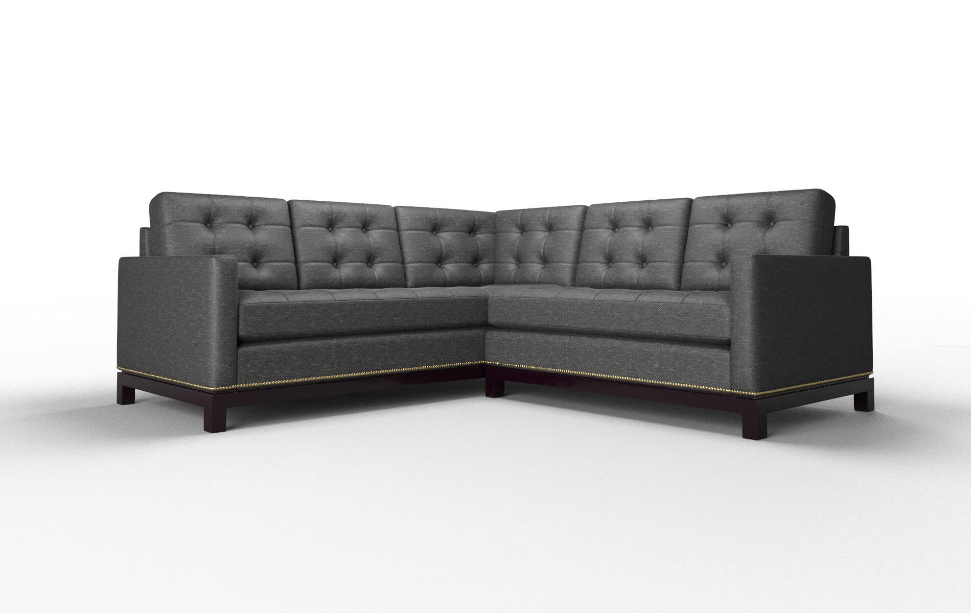 Davos Phoenix Charcoal Sectional - DreamSofa