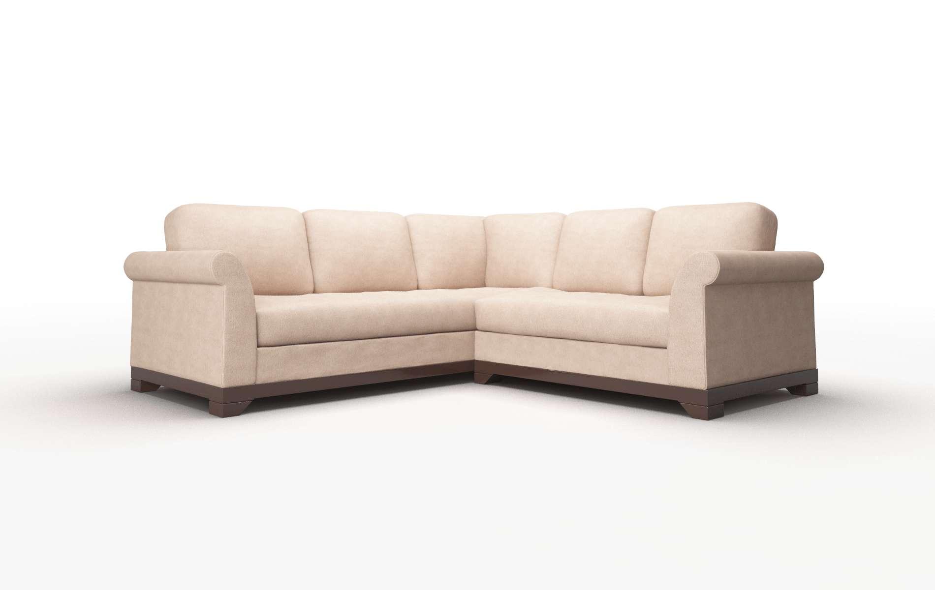 Remarkable Denver Bergamo Dove Sectional Dreamsofa Pabps2019 Chair Design Images Pabps2019Com