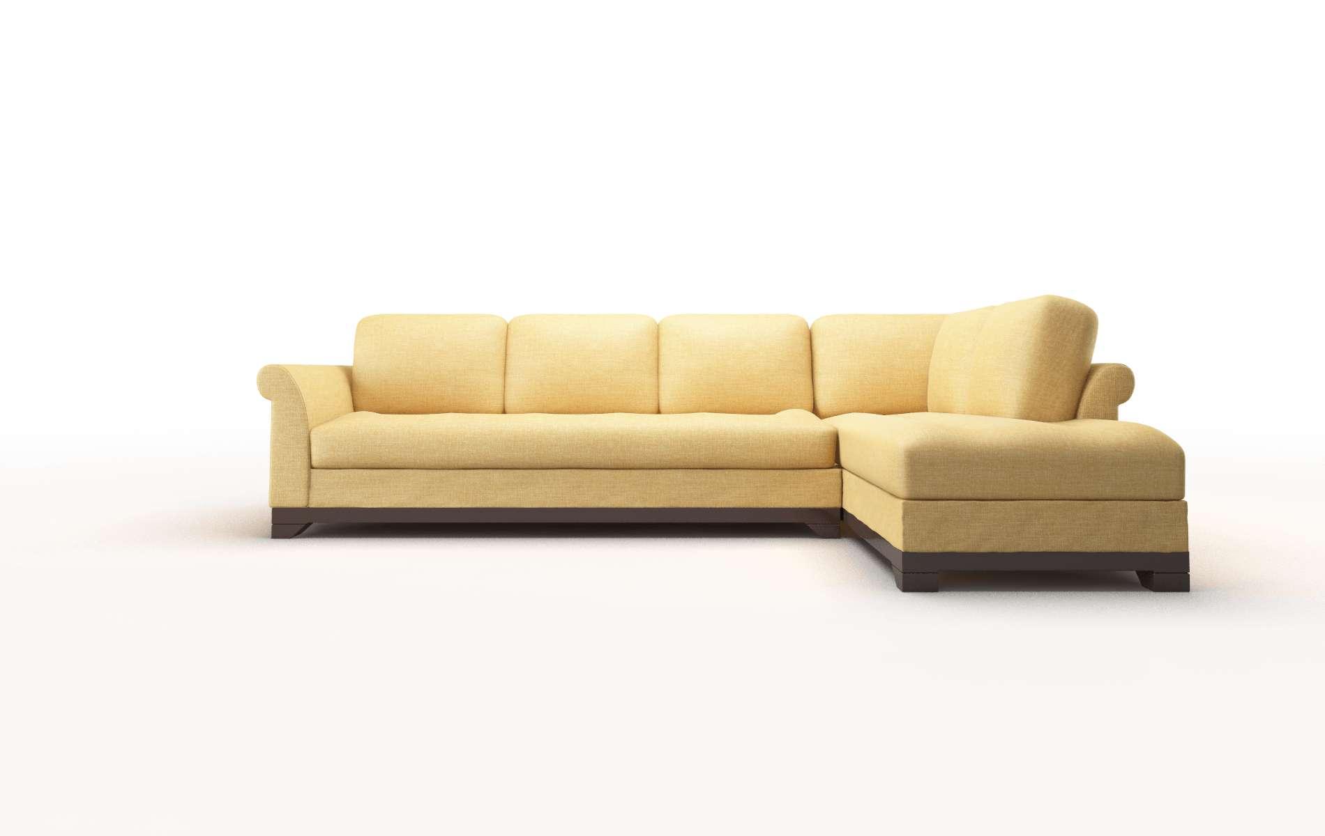 Denver Keylargo Honey chair espresso legs