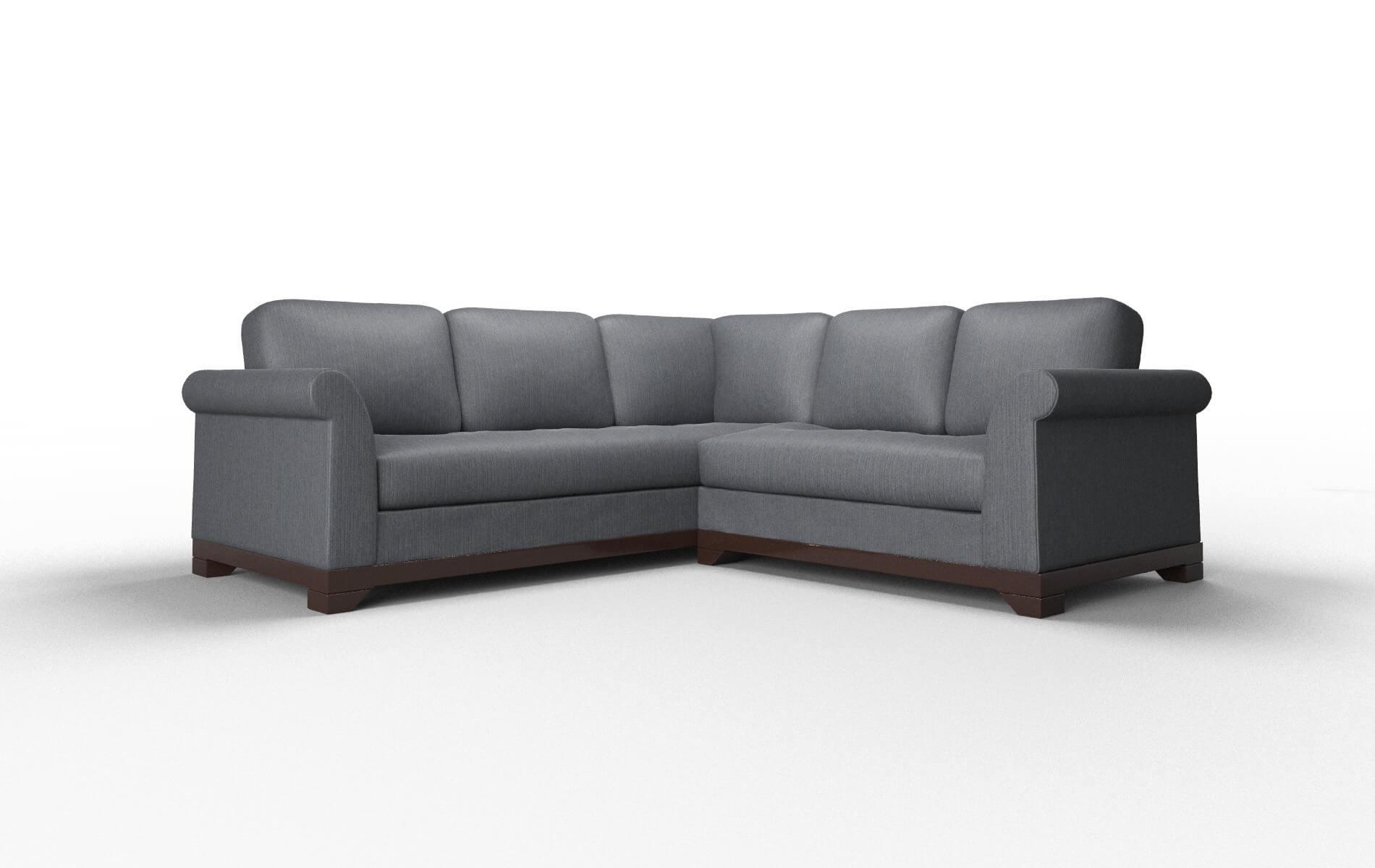 Amazing Denver Bergamo Dove Sectional Dreamsofa Pabps2019 Chair Design Images Pabps2019Com