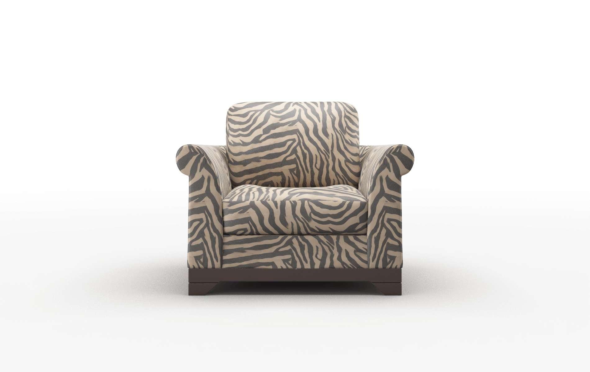 Denver Zambia Coffee Chair espresso legs 1