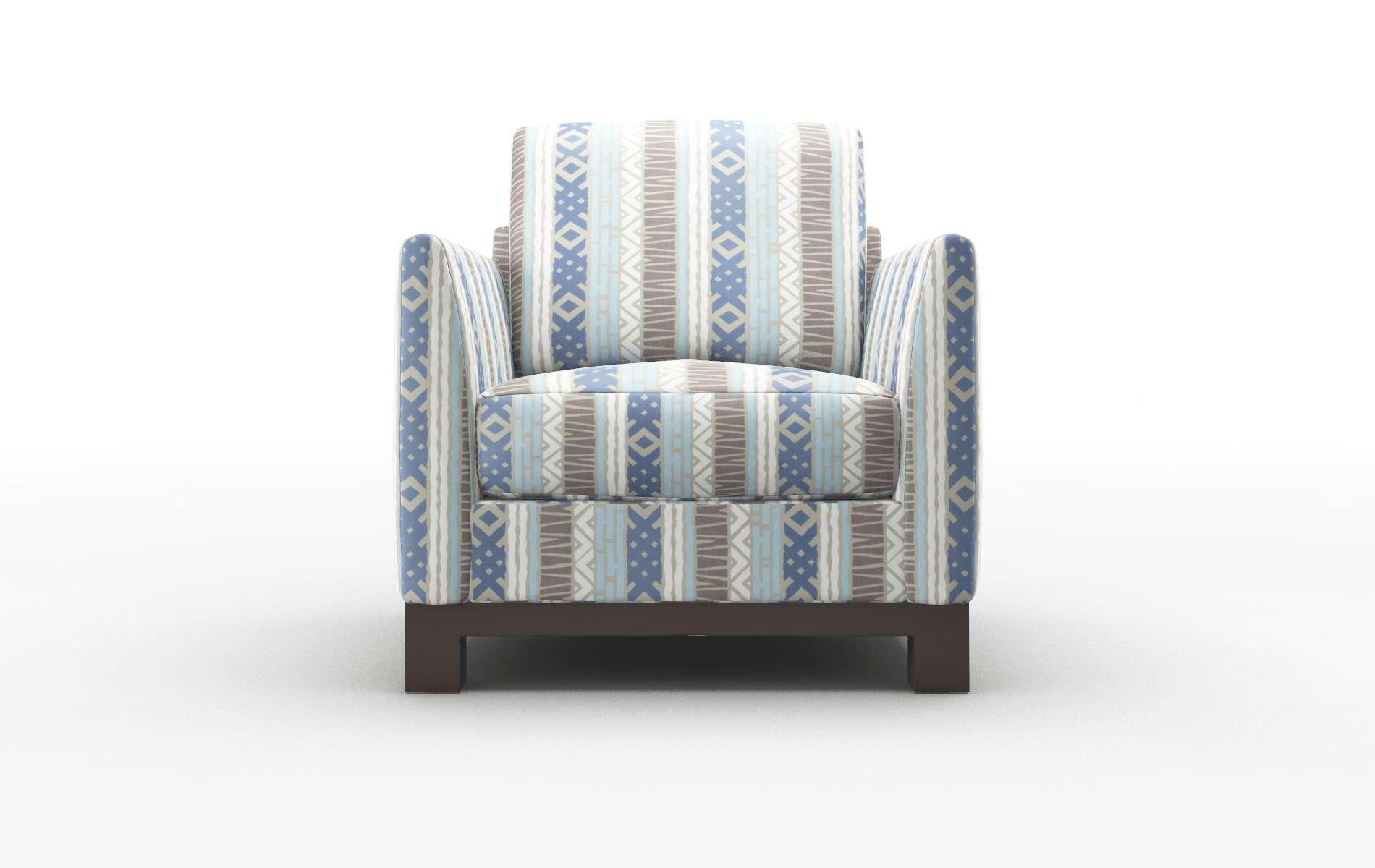 Dover Bodhi Indigo Chair espresso legs 1