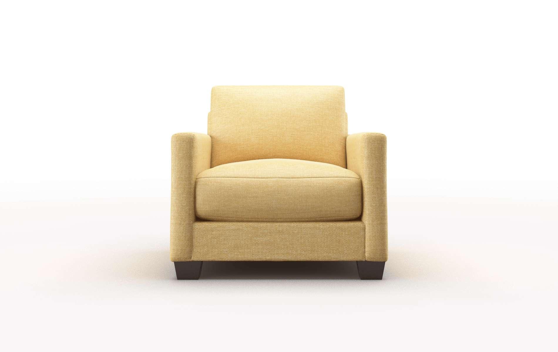 Dresden Keylargo Honey chair espresso legs
