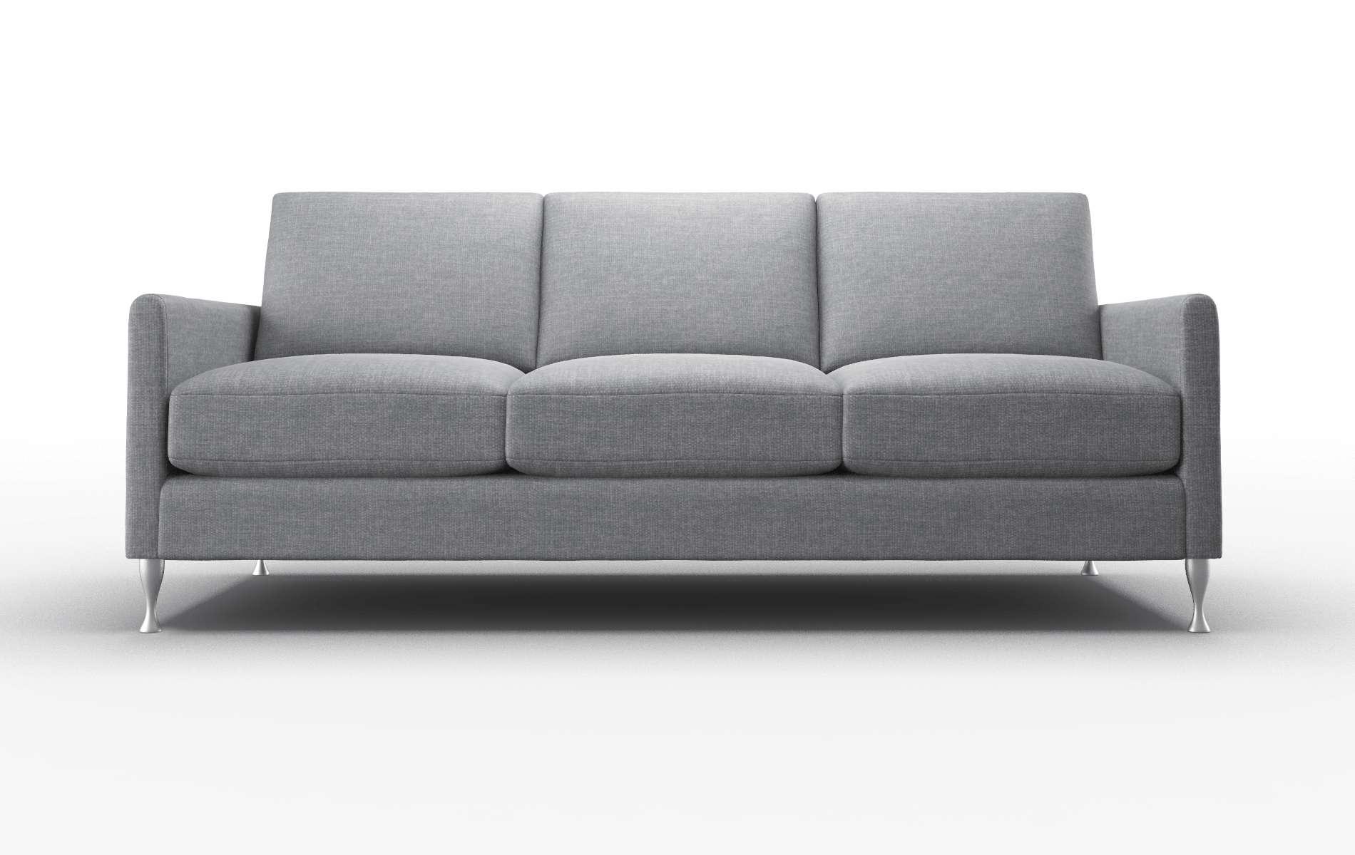 Eureka Keylargo Graphite Sofa metal legs 1