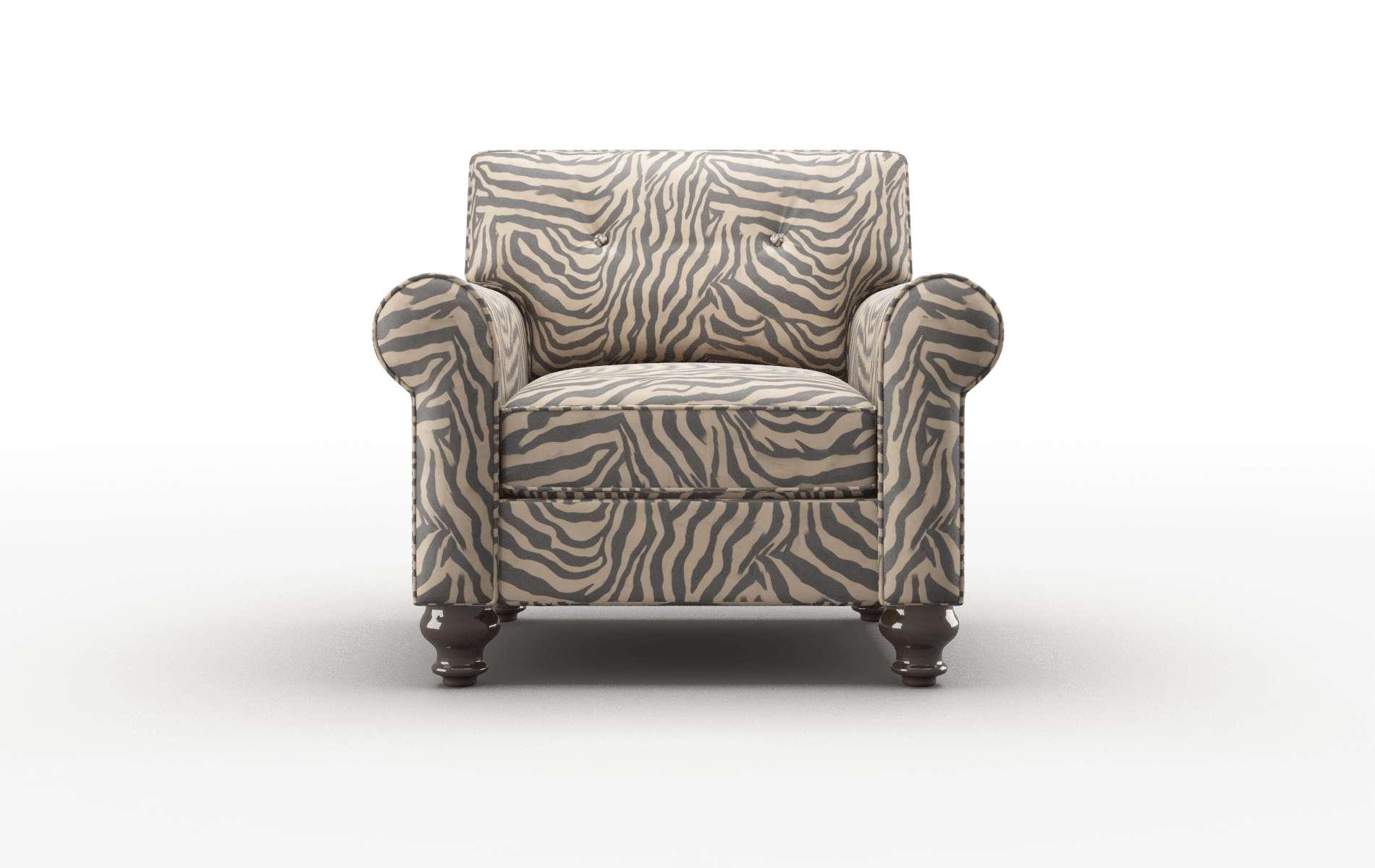 Farah Zambia Coffee Chair espresso legs 1