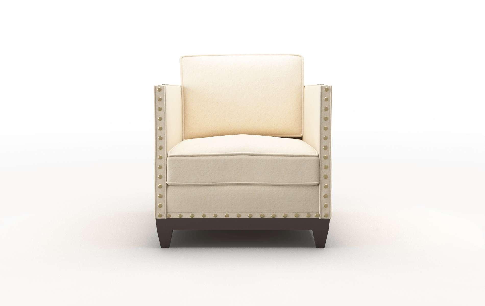 Florence Bella Buckwheat Chair espresso legs 1