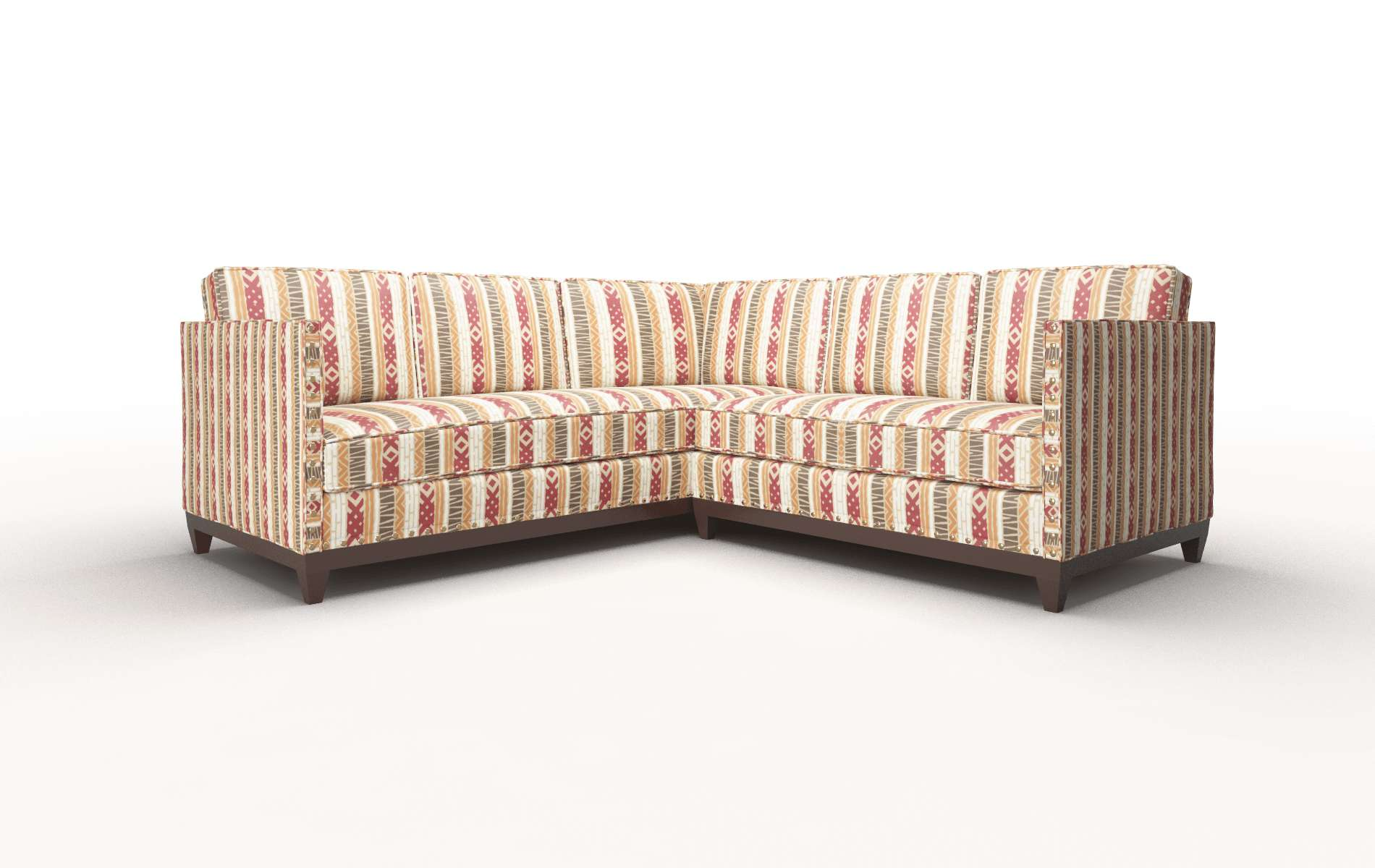 Florence Bodhi Tango Sectional espresso legs 1