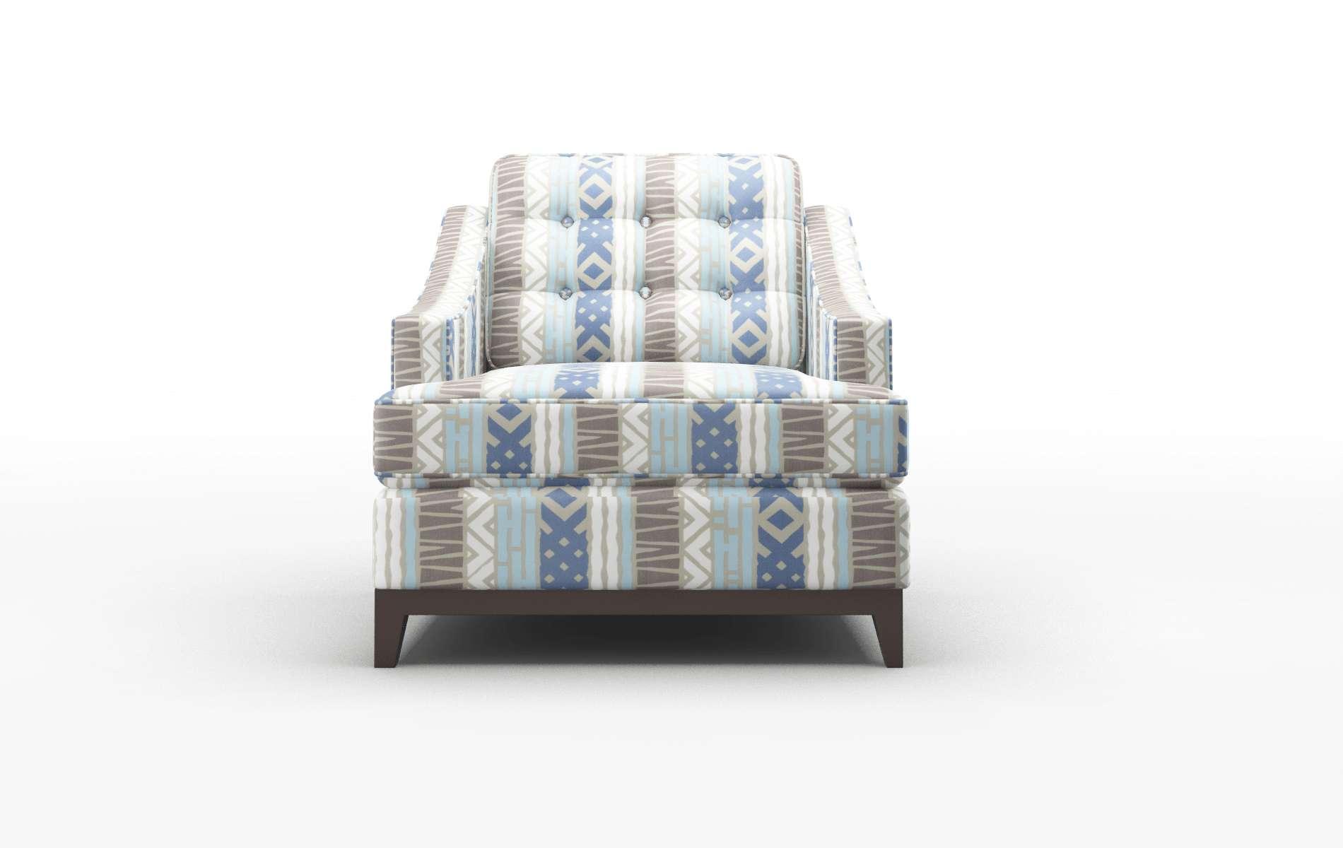 Geneva Bodhi Indigo Chair espresso legs 1