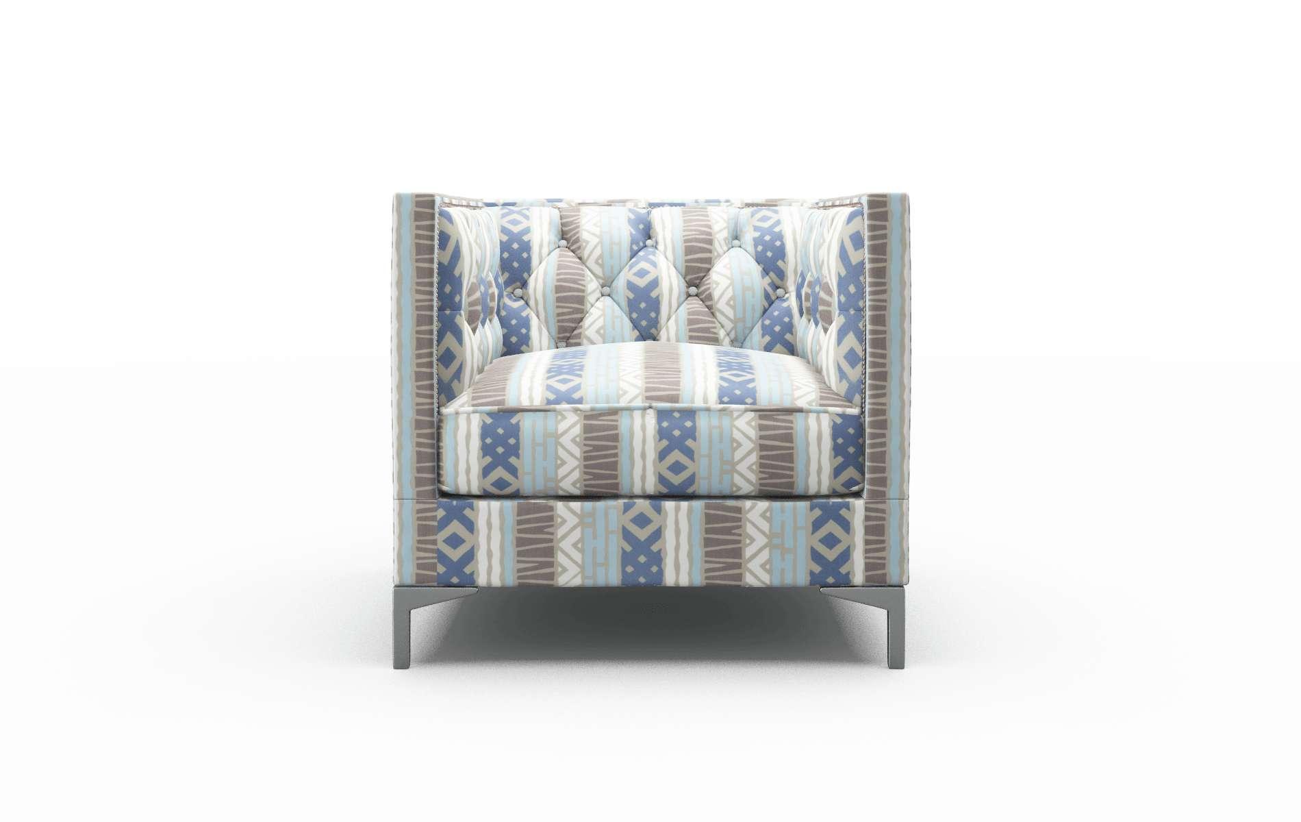 Gosford Bodhi Indigo Chair metal legs 1