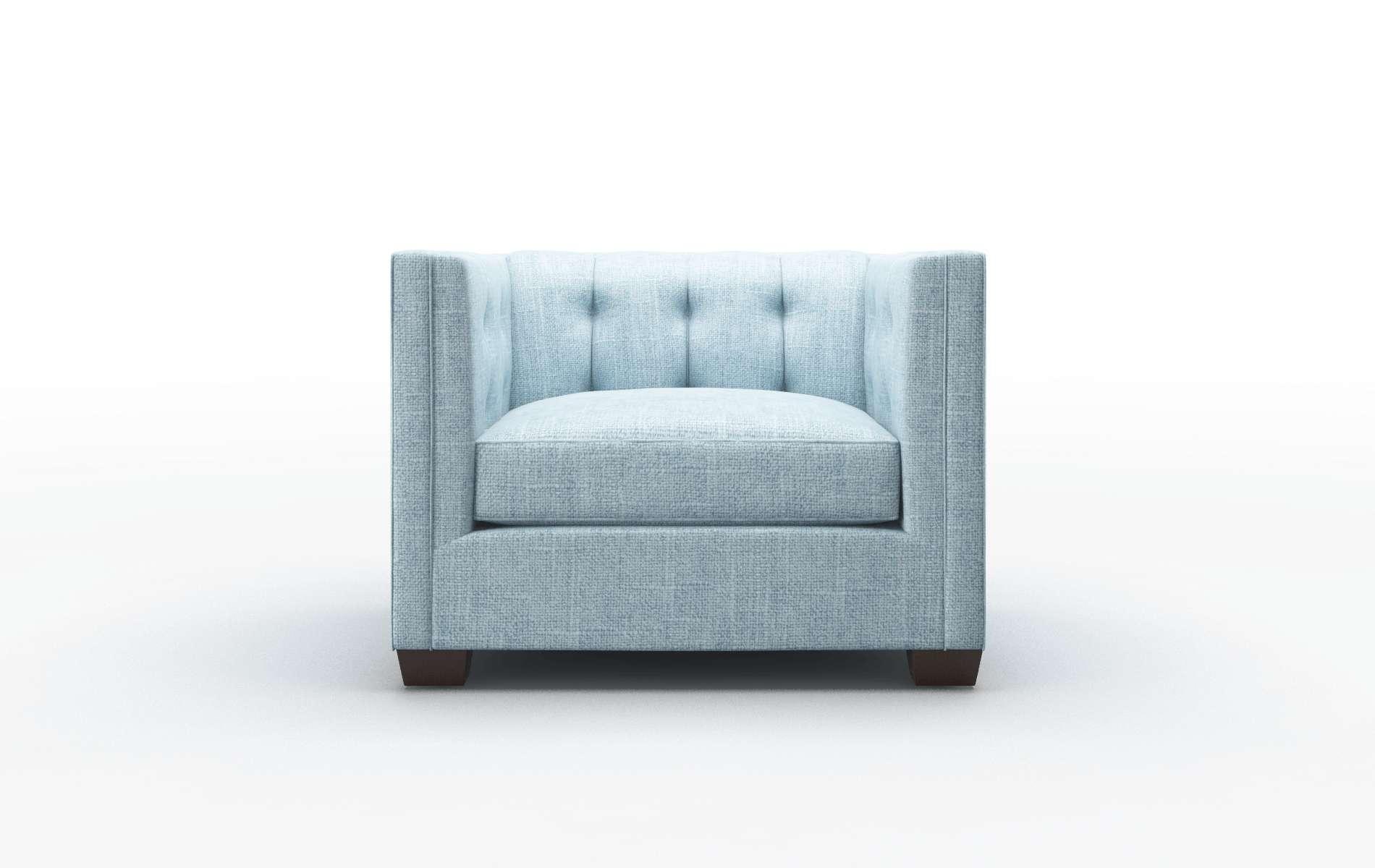 Grant Atlas Turquoise Chair espresso legs 1