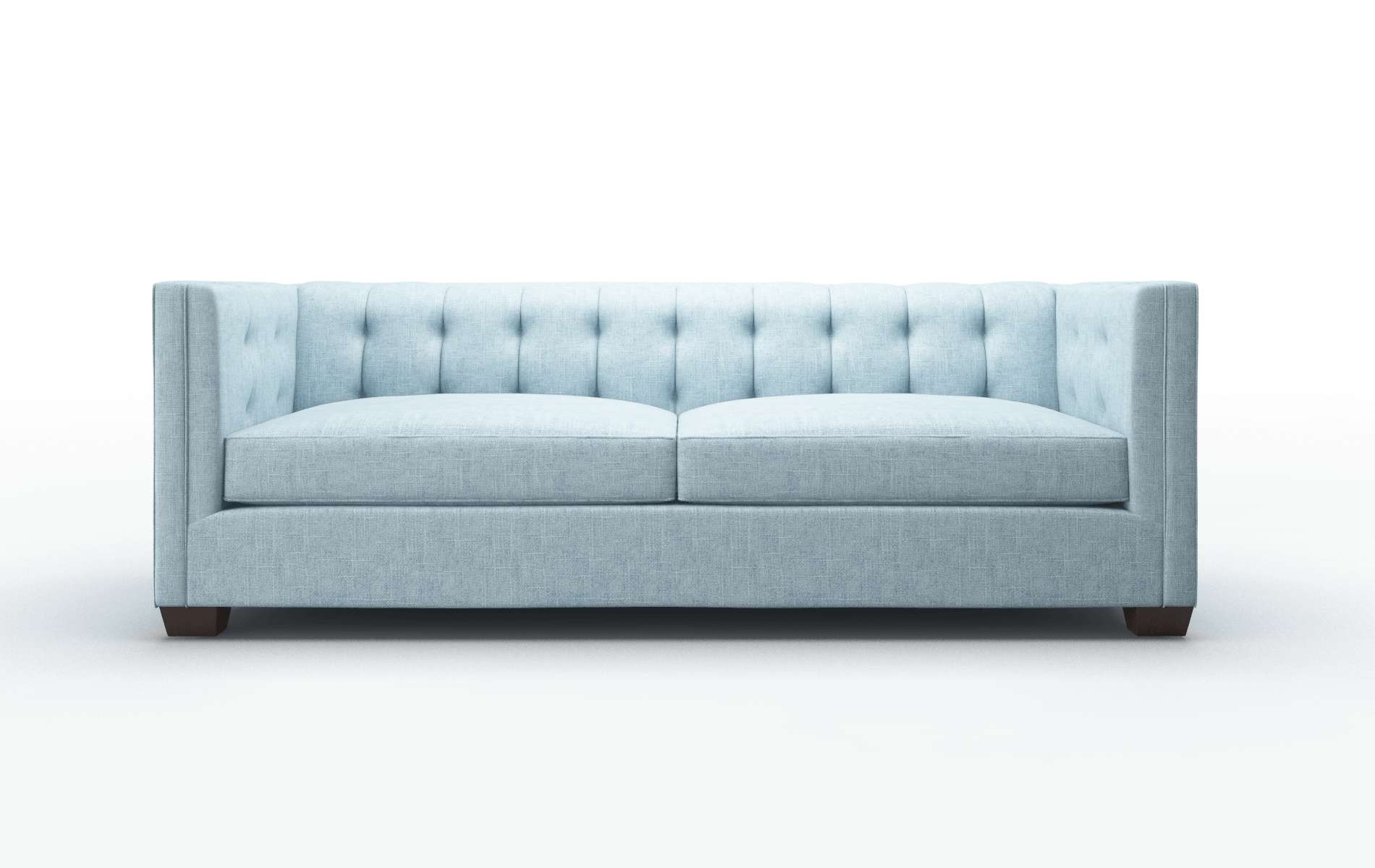 Grant Atlas Turquoise Sofa espresso legs 1