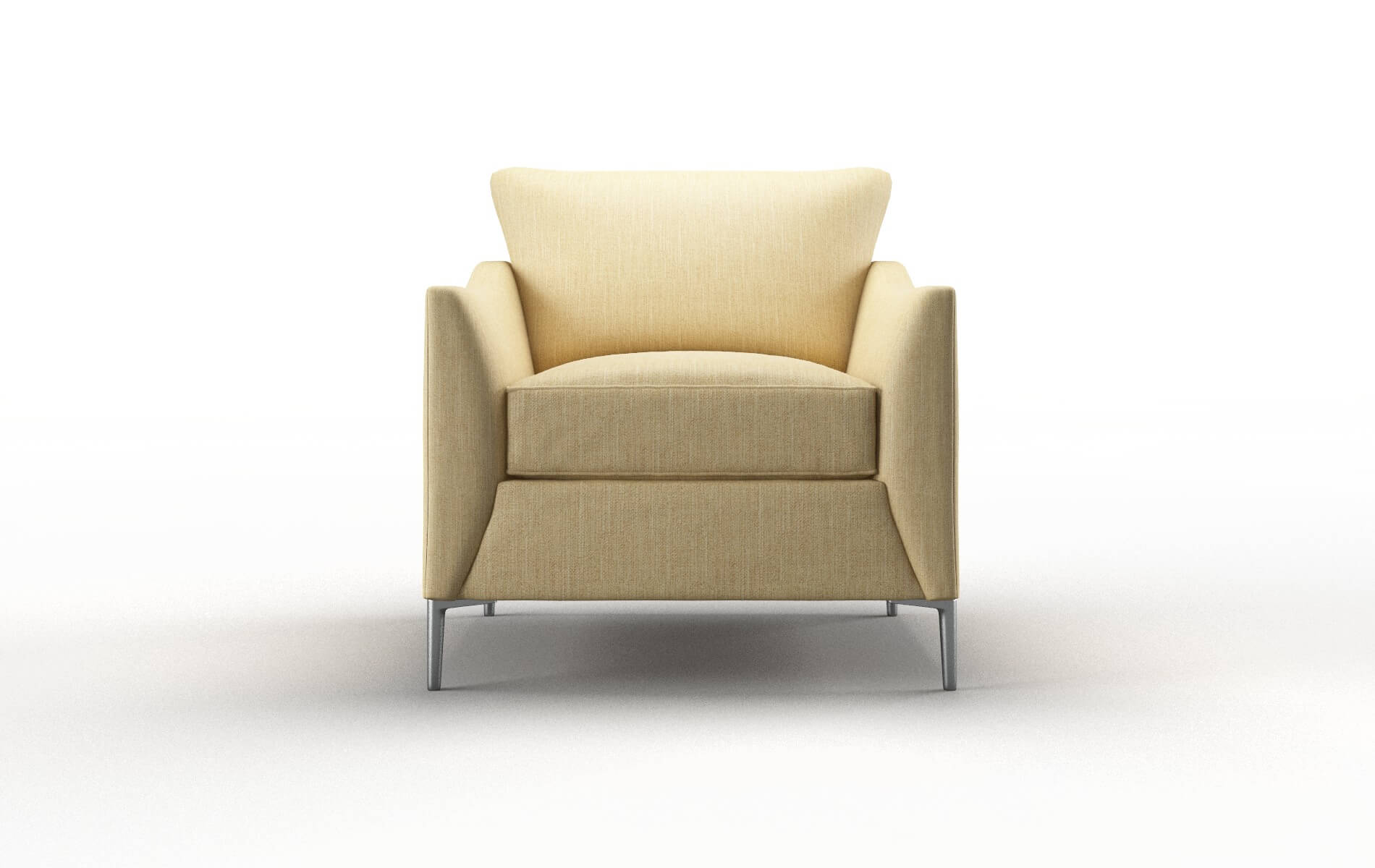 Hamburg Malibu Maize Chair metal legs 1