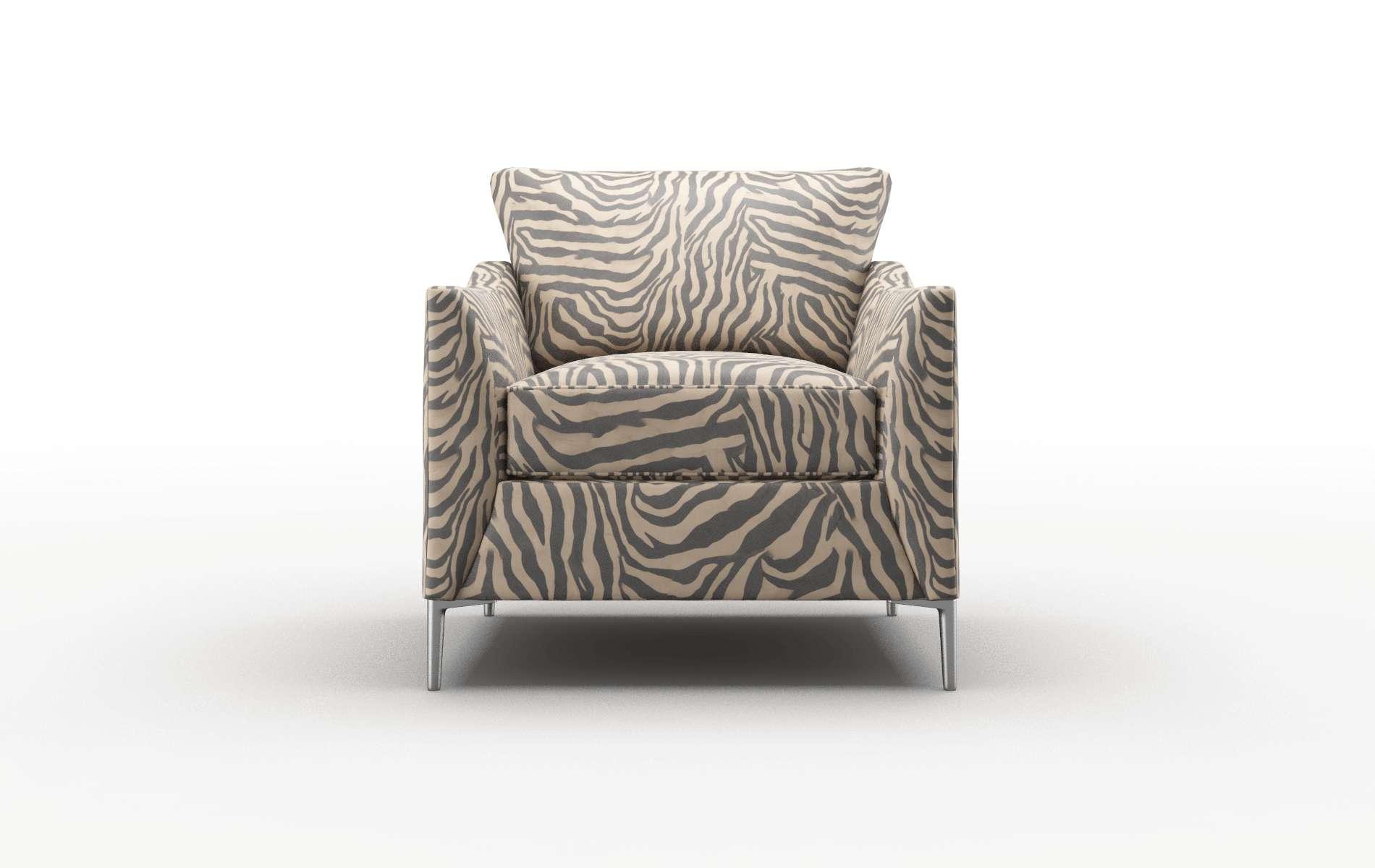 Hamburg Zambia Coffee Chair metal legs 1