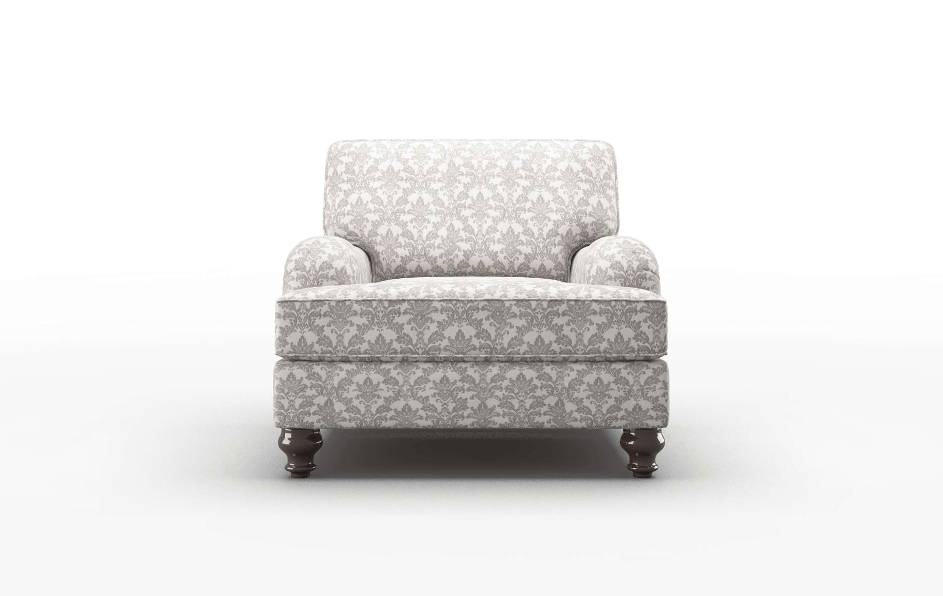 Hamilton Bergamo Dove Chair espresso legs 1