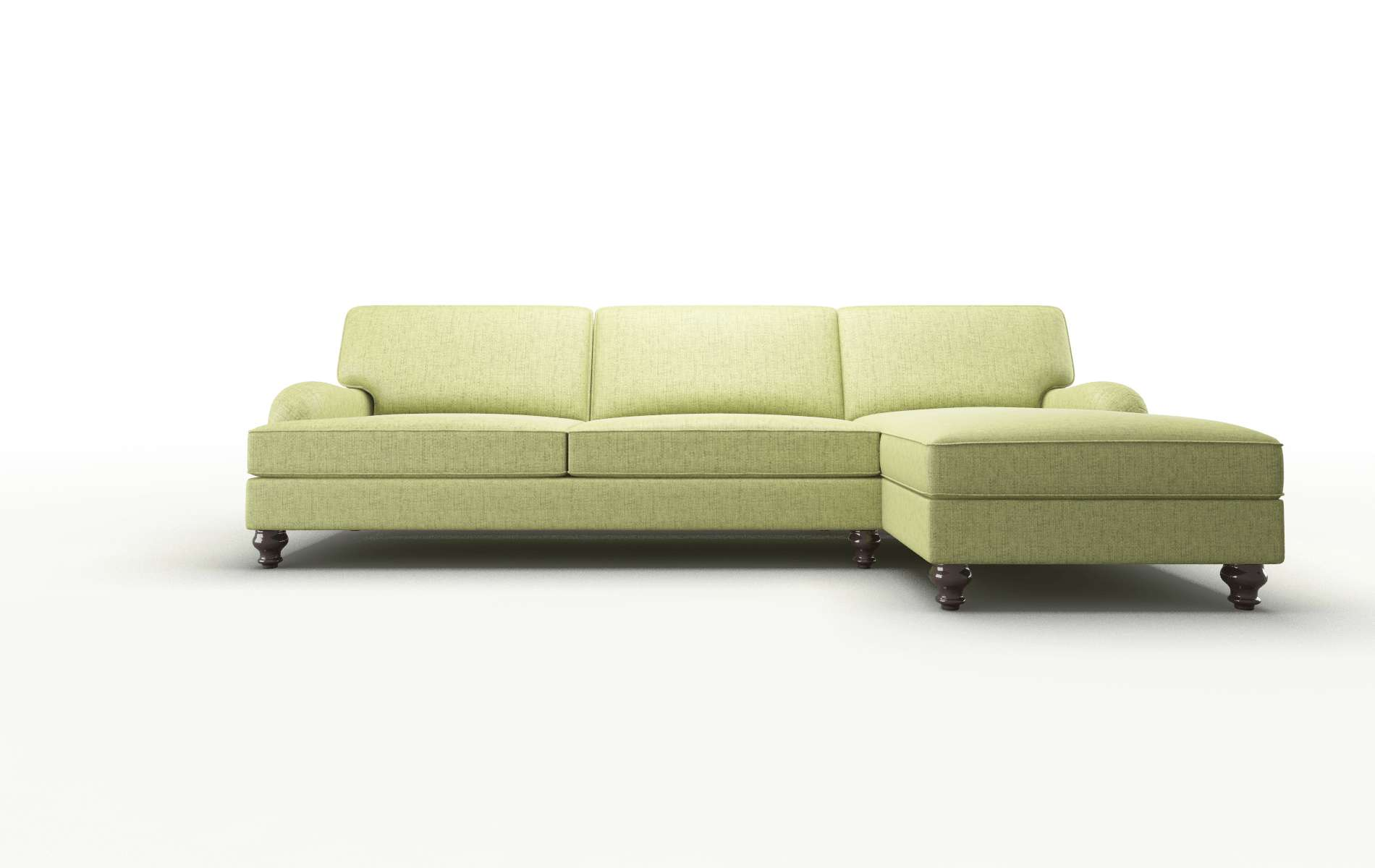 Hamilton Notion Appletini chair espresso legs
