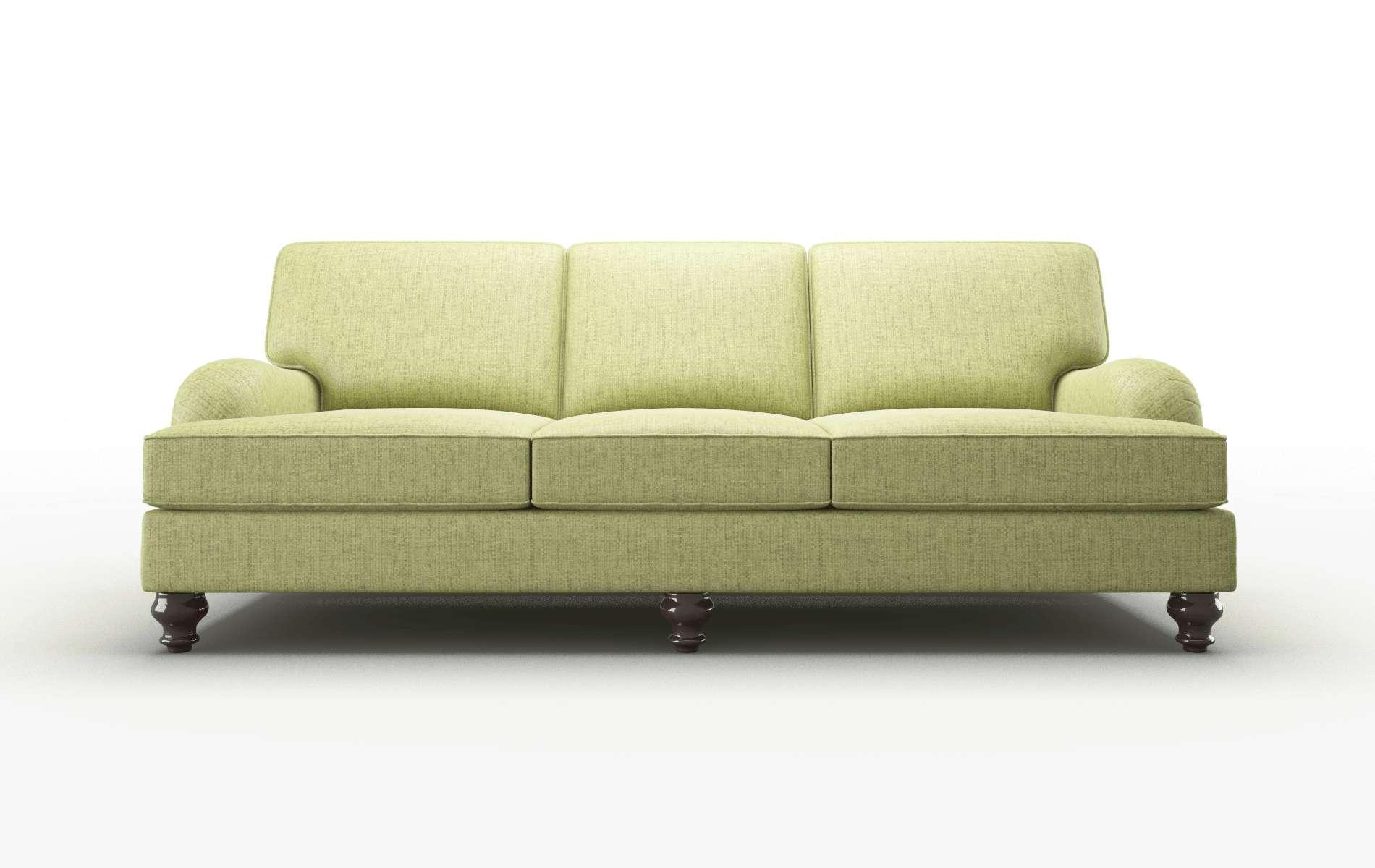 Hamilton Notion Appletini Sofa espresso legs 1