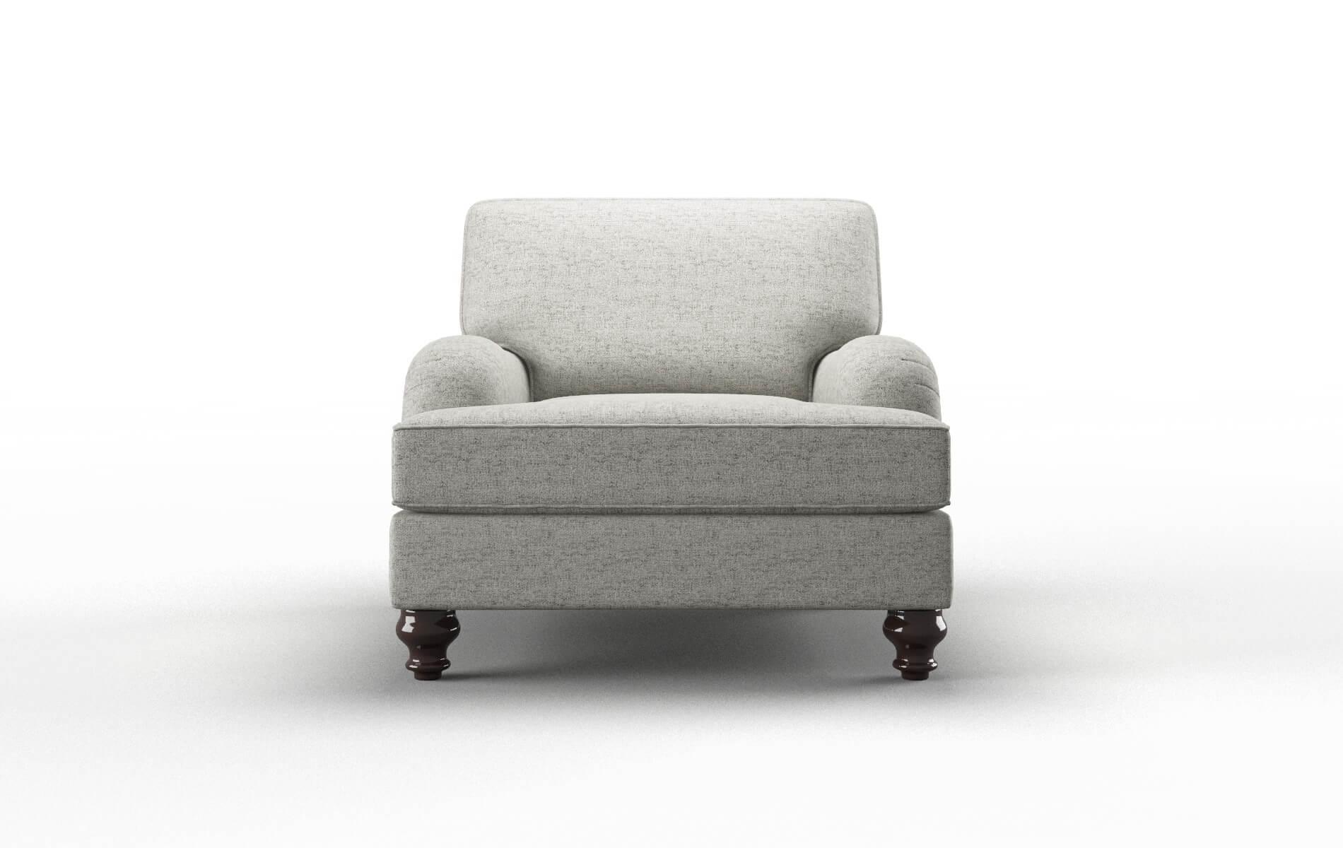 Hamilton Oceanside Granite Chair espresso legs 1