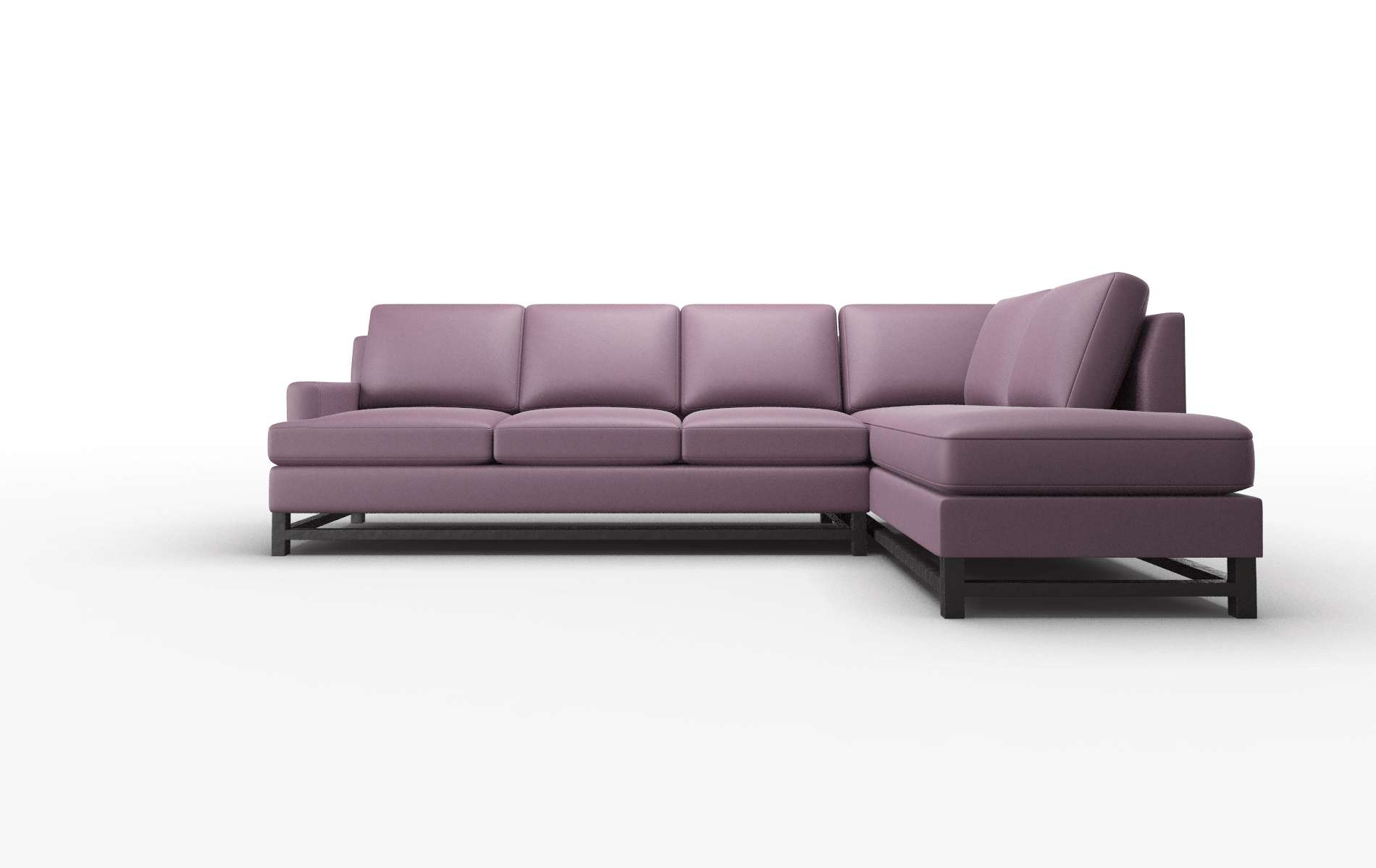 Houston Bella Aubergine Panel espresso legs 1