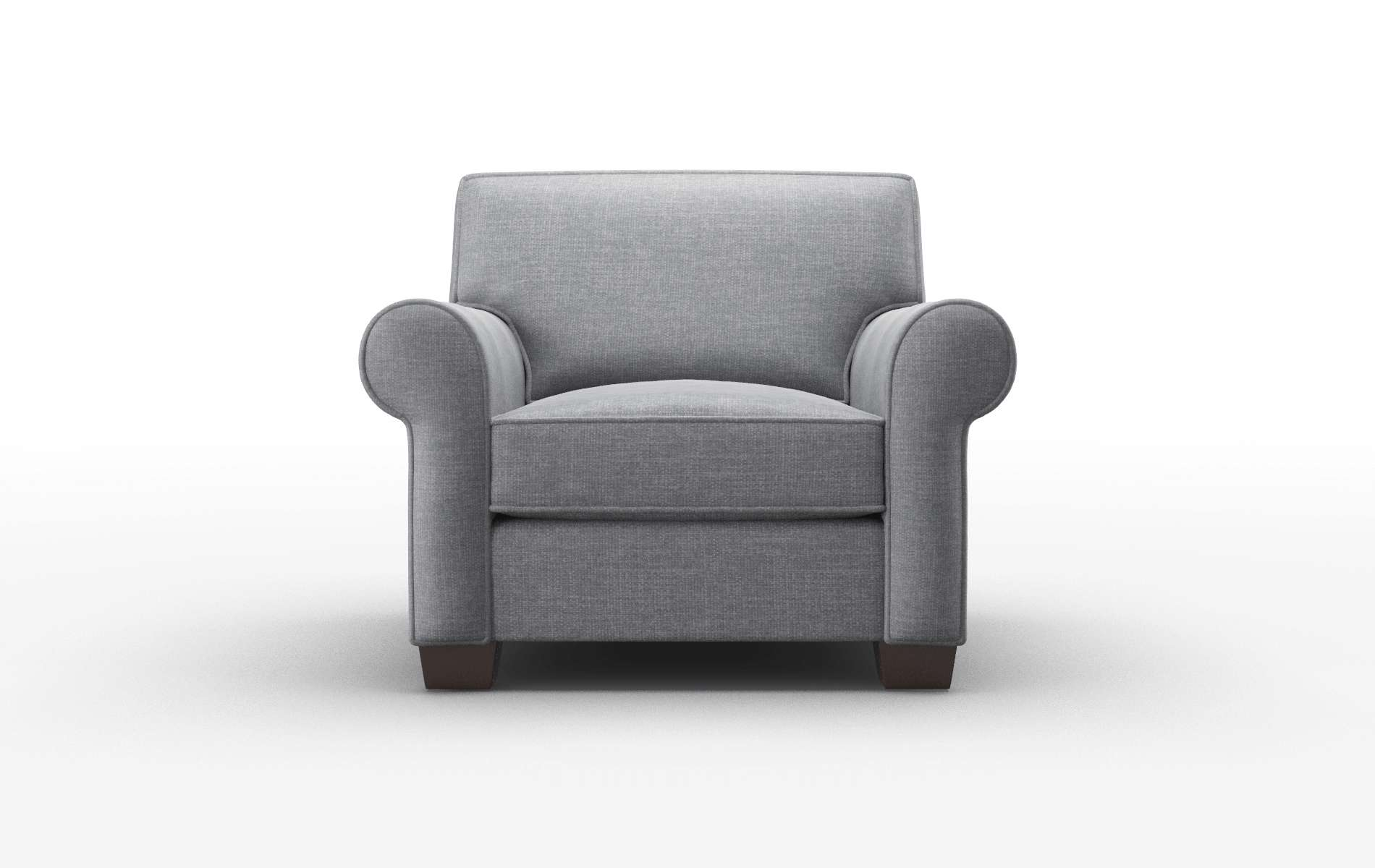 Isabel Keylargo Graphite Chair espresso legs 1