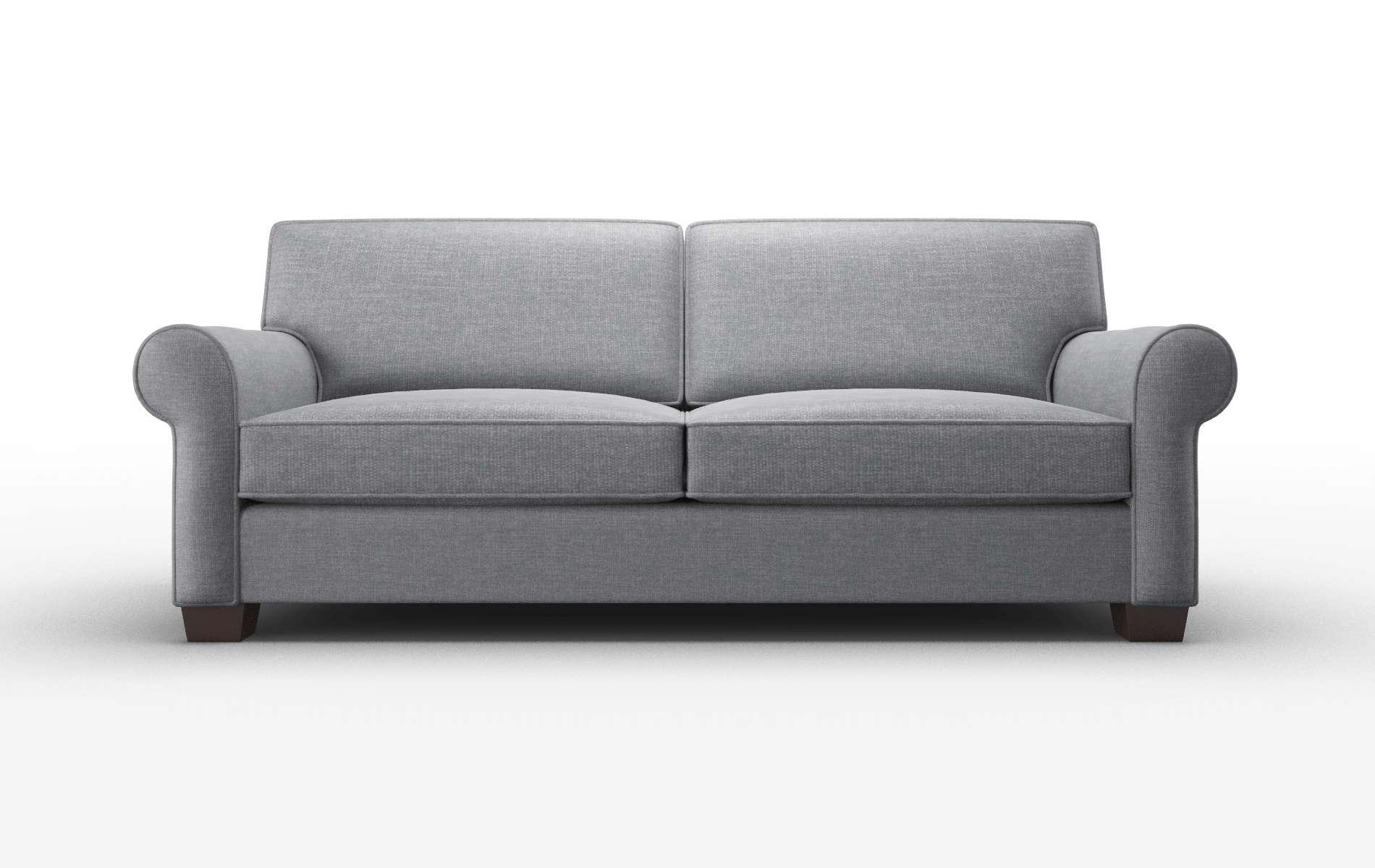 Isabel Keylargo Graphite Sofa espresso legs 1