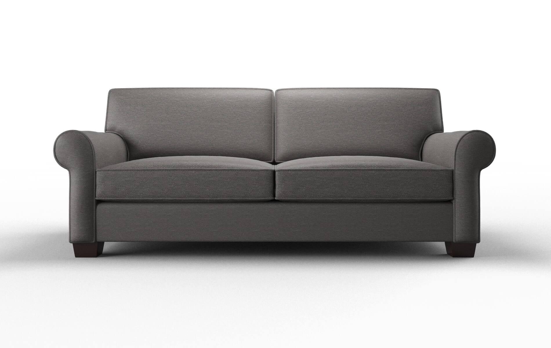 Isabel Oscar Grey Sofa espresso legs 1
