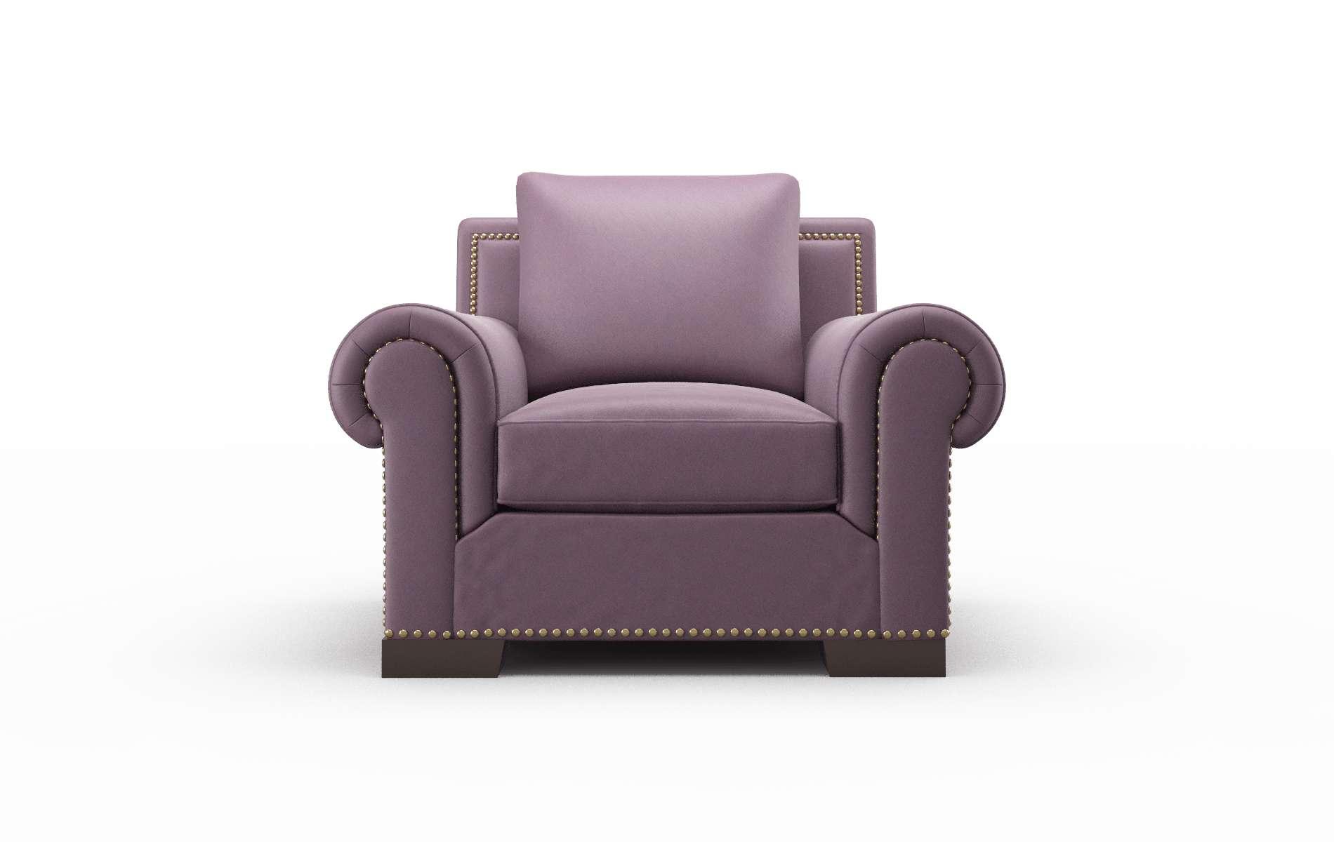 James Bella Aubergine Chair espresso legs 1