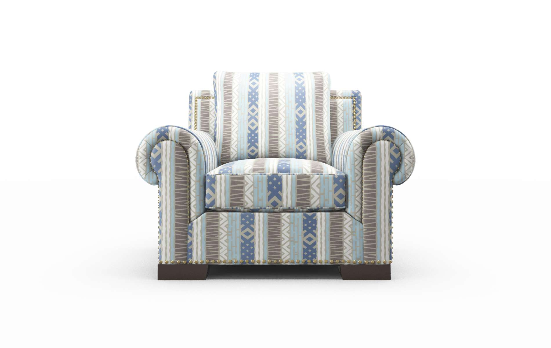 James Bodhi Indigo Chair espresso legs 1
