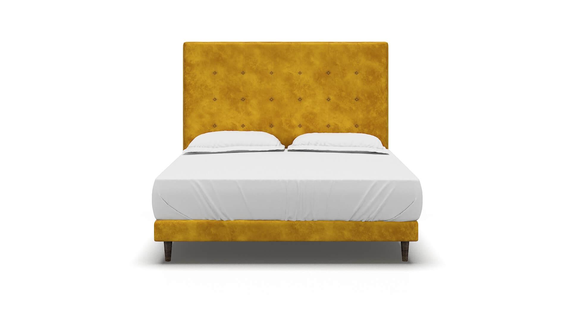 Jolie Royale Marigold Bed King espresso legs 1