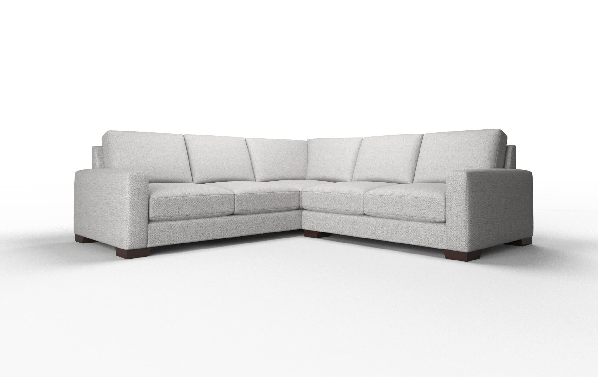 London Catalina Silver Sectional espresso Legs 1